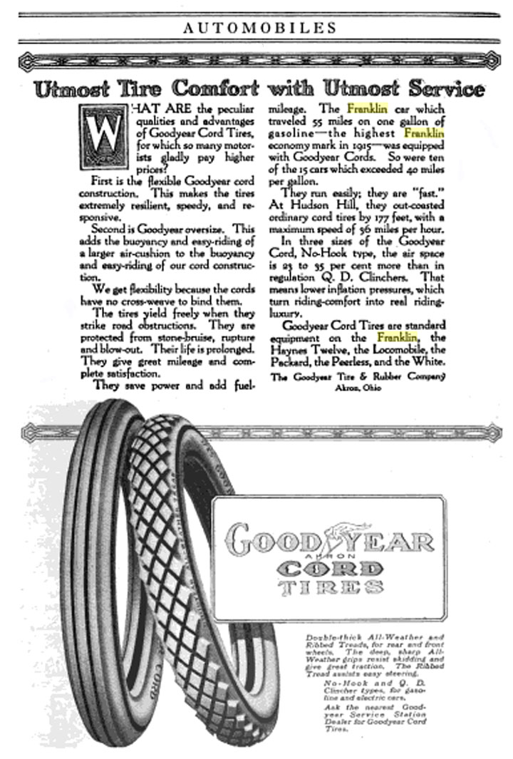 File Goodyear Tires 1916 Franklin Jpg Wikimedia Commons