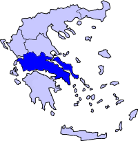 Continental Greece within Greece