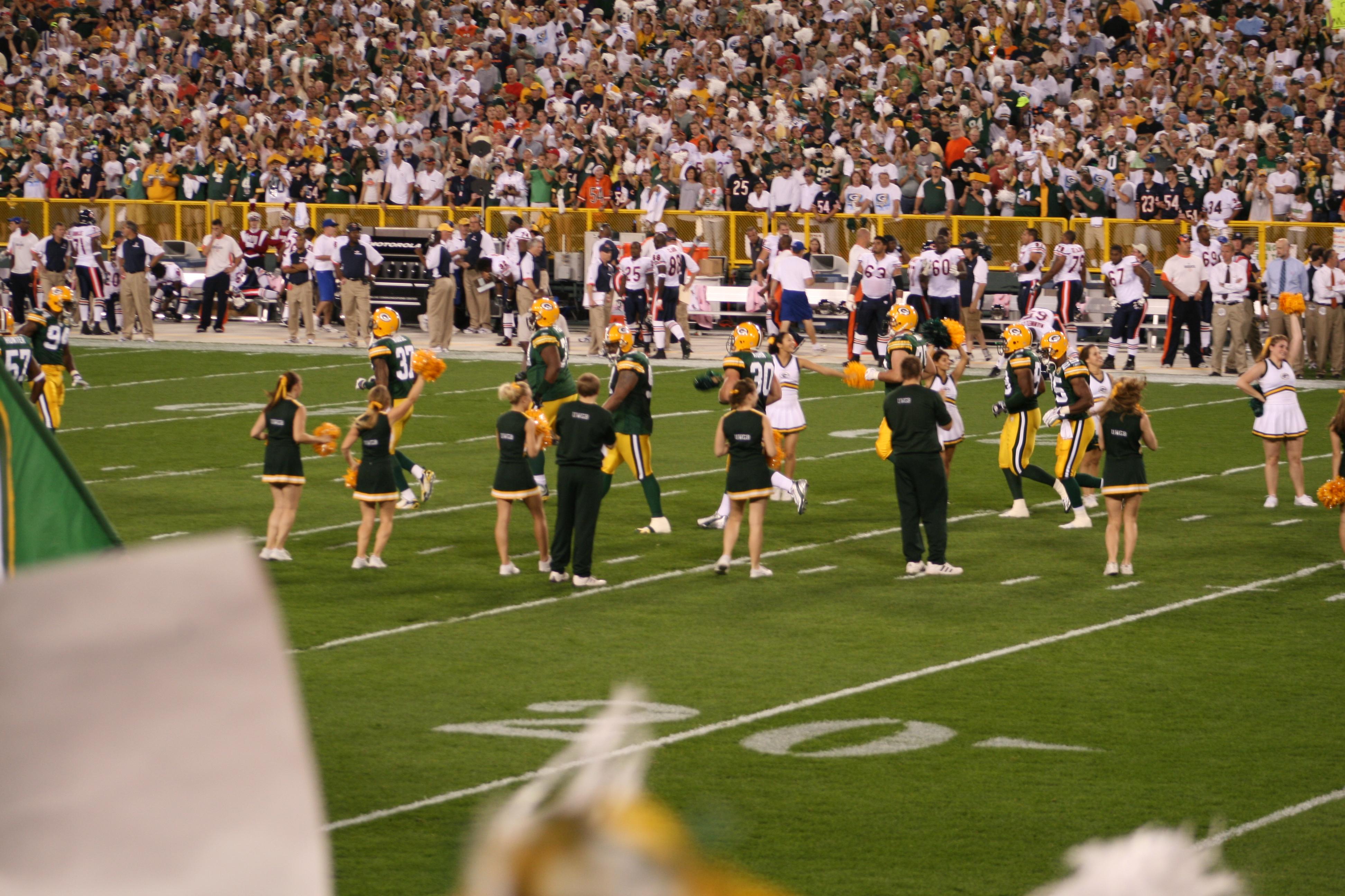 File:Green Bay Packers cheerleaders.jpg