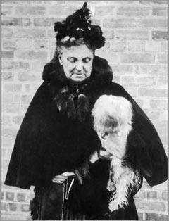 Hetty Green, 1900, richest woman in America