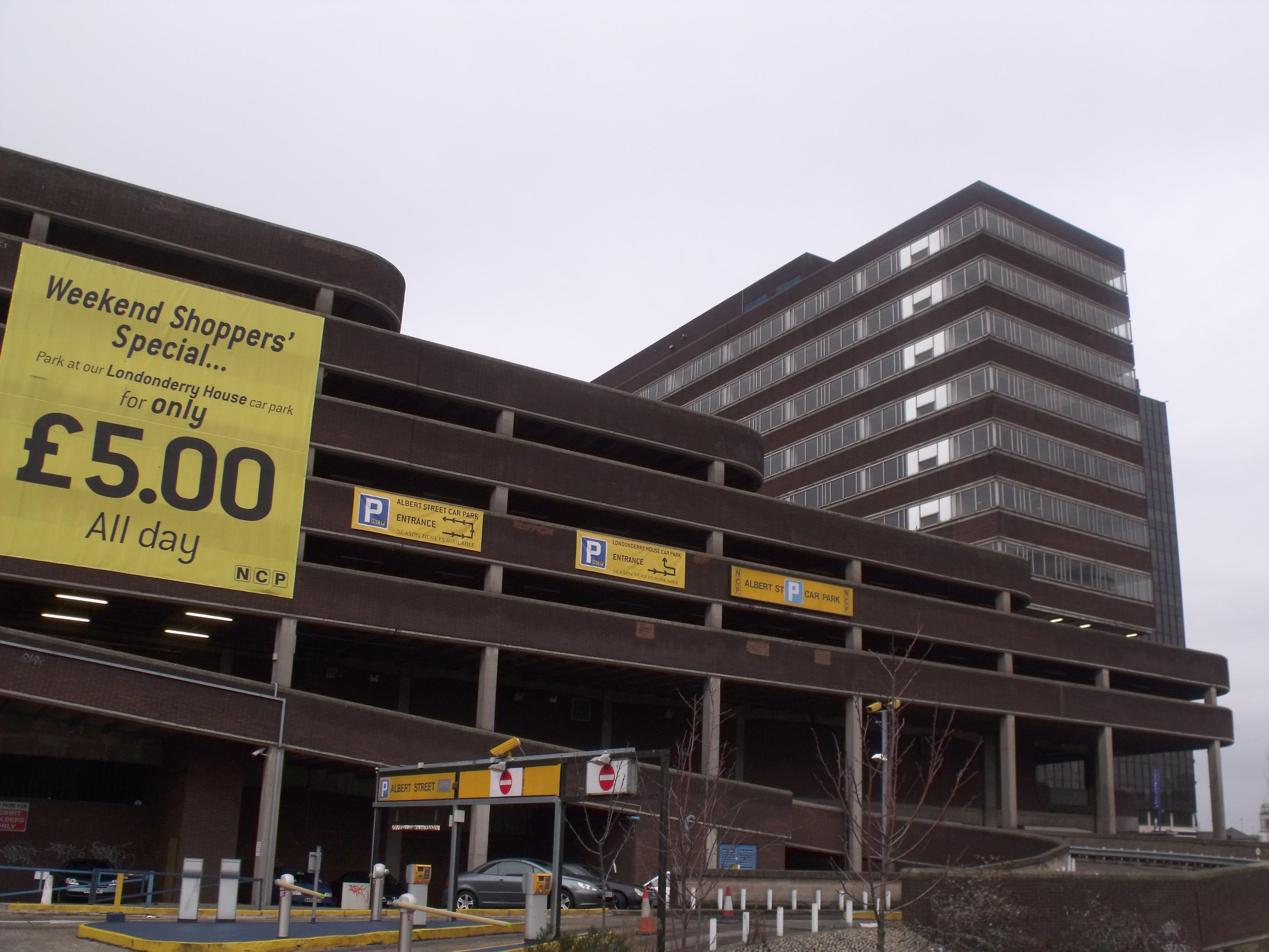 Ncp Car Park Newcastle Metro Arena