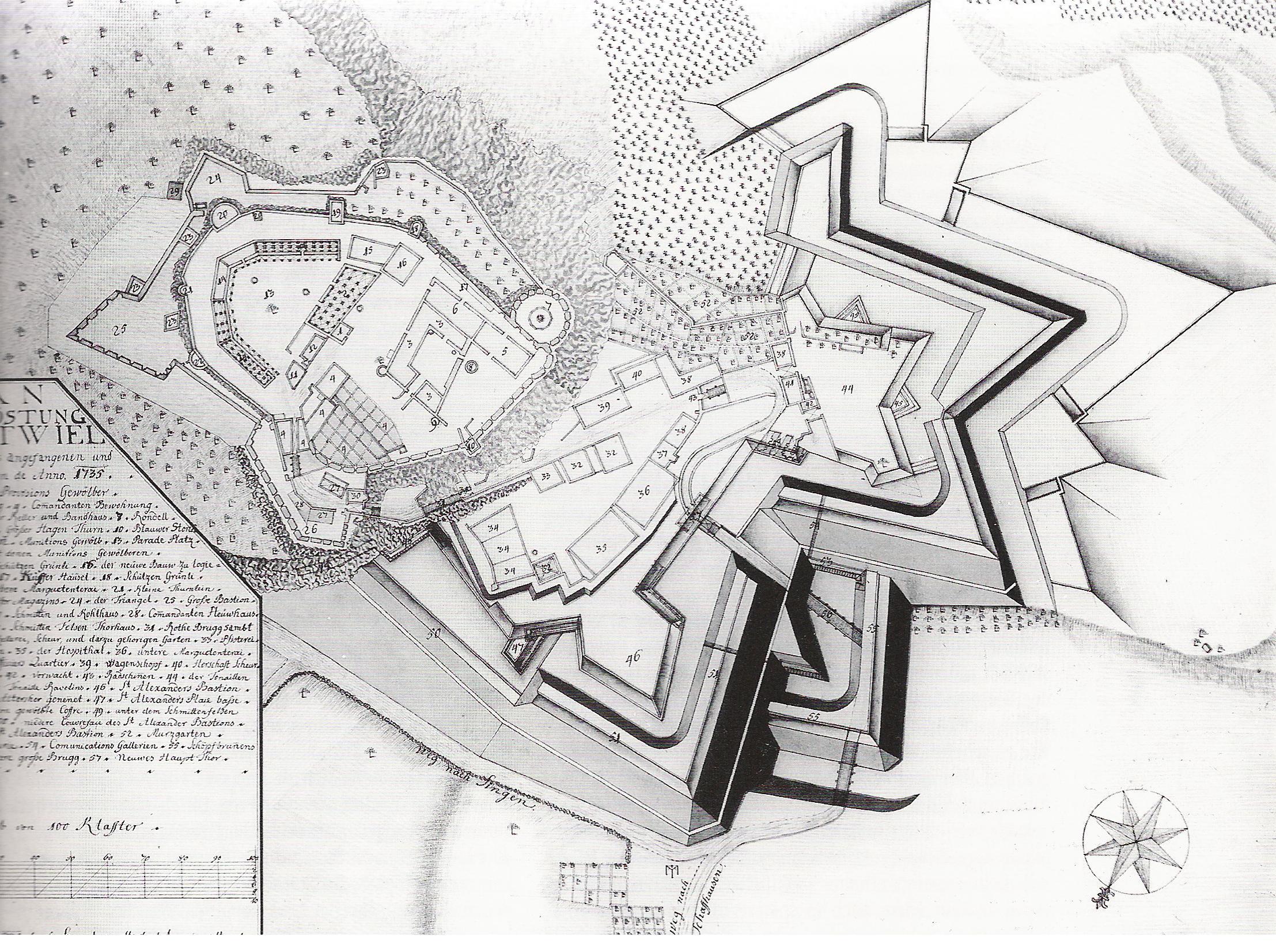 File:Hohentwiel-Plan 1735.jpg - Wikimedia Commons
