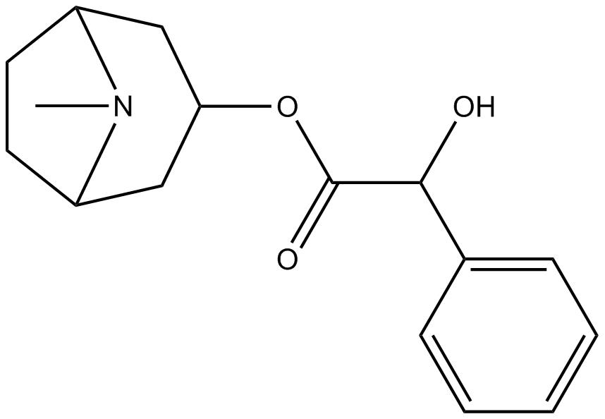 2 Hydroxy Phenylacetic Acid 1R5S 8 Methyl Azabicyclo321octan 3 Yl Ester