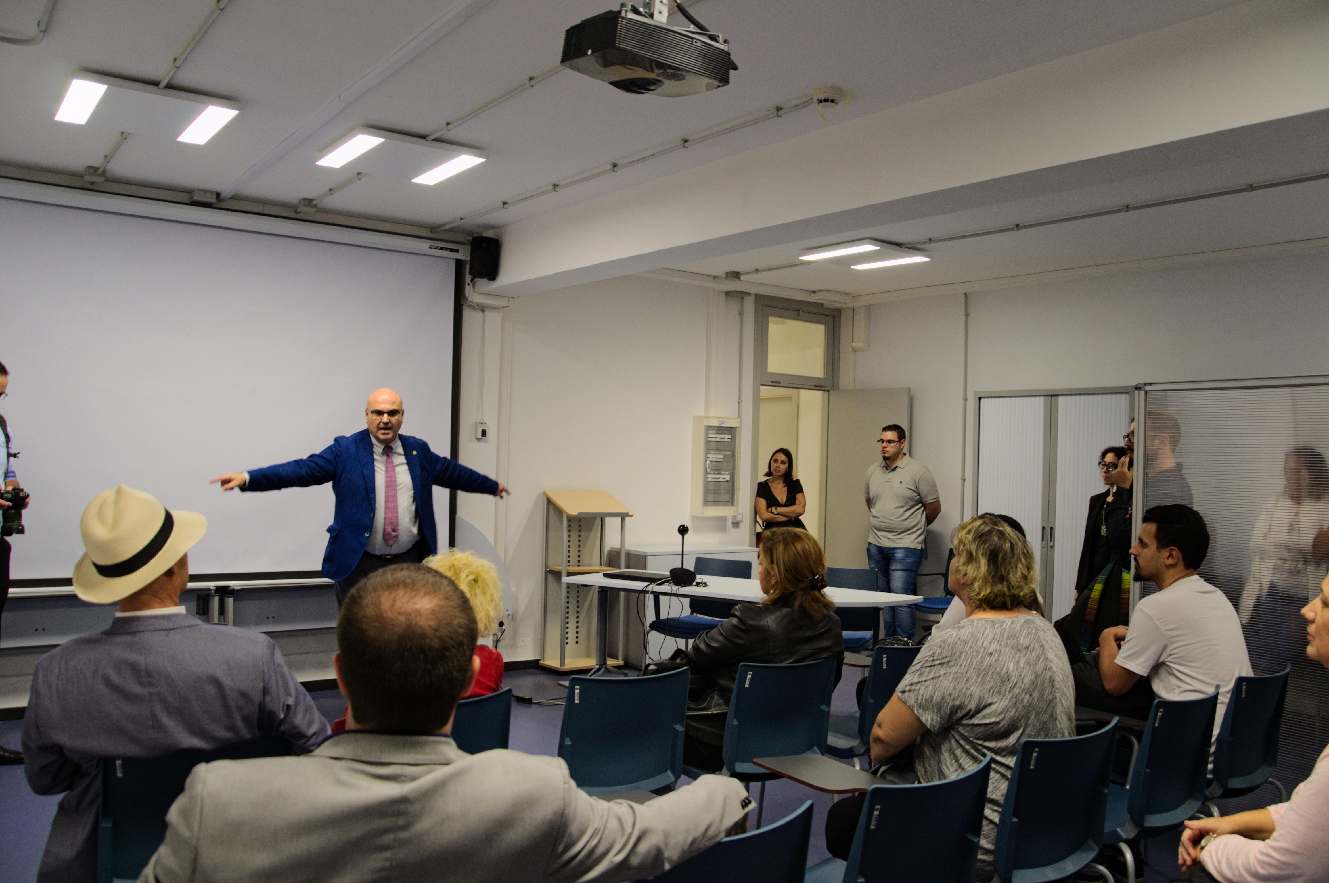 I Jornadas de Institutos Universitarios de Humanidades en Canarias, realizadas en la Universidad de Las Palmas de Gran Canaria