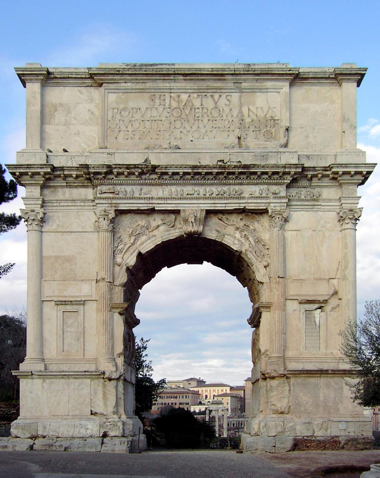Arc de Titus.