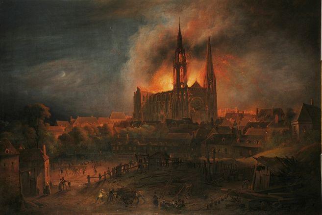 File:Incendie de la Cathédrale Notre-Dame de Chartres.jpg ...