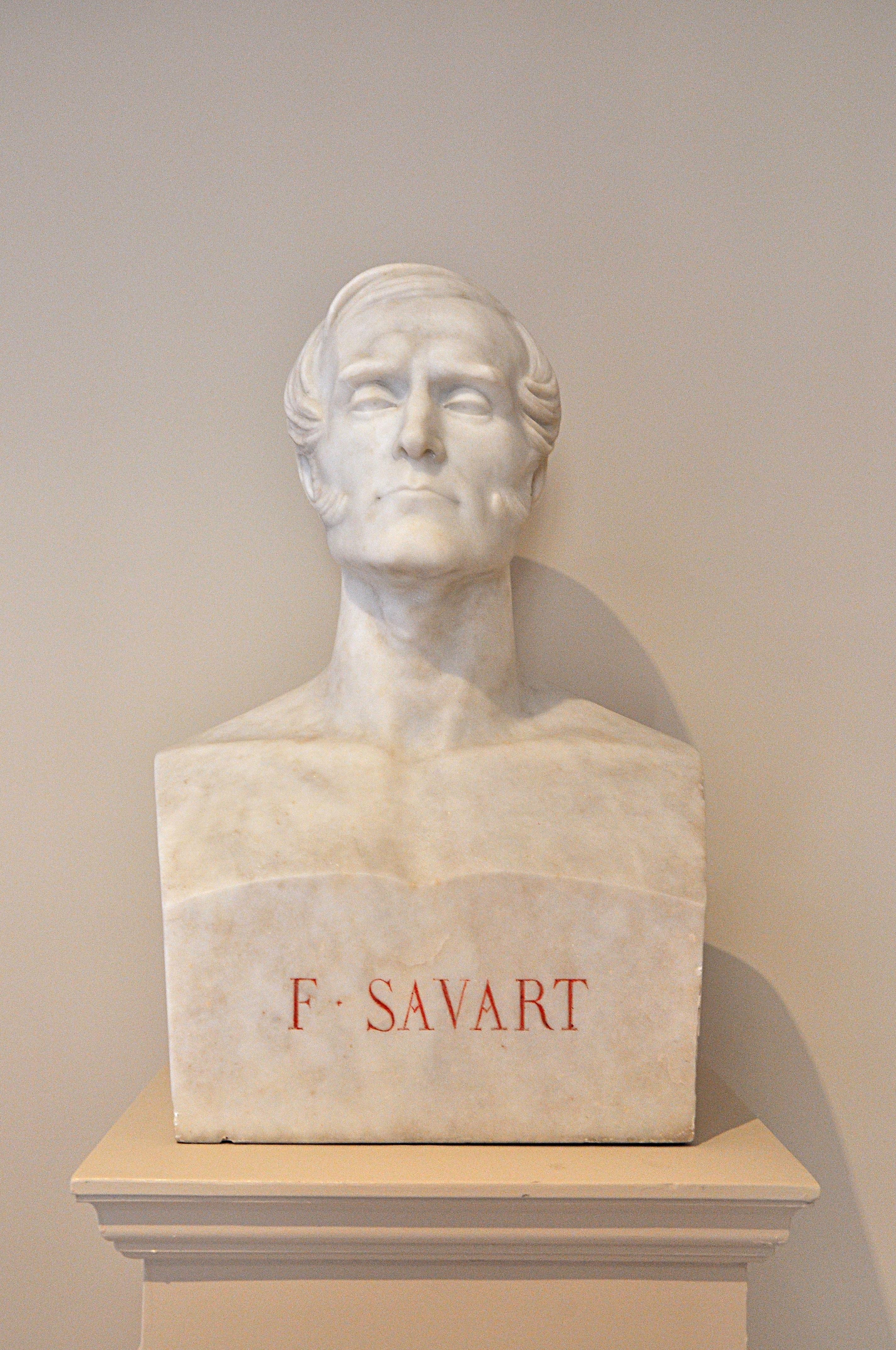 Bust of Félix Savart in the Institut de France located in the 6th arrondissement of Paris