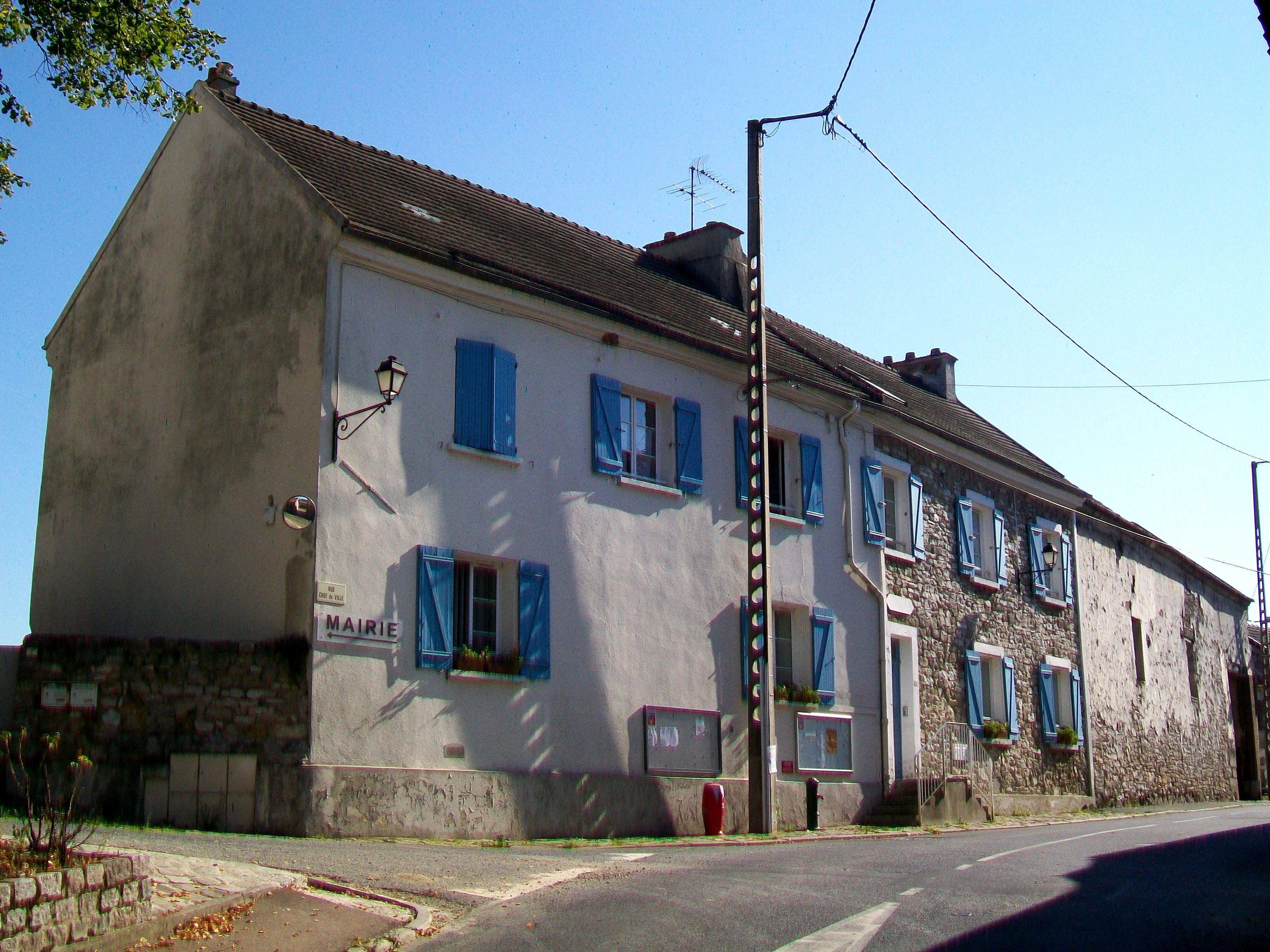 File Jagny sous Bois (95), mairie, rue du Chef de Ville jpg Wikimedia Commons # Piscine Aulnay Sous Bois