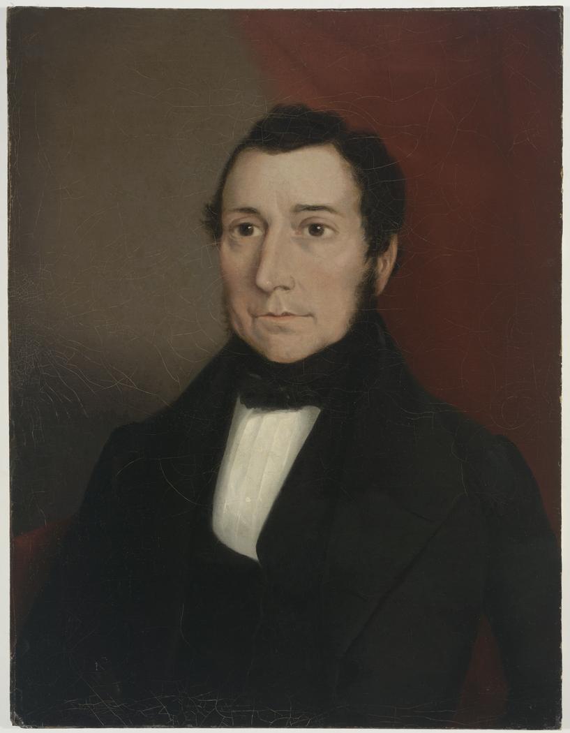 1843 oil portrait of James Dunlop by [[Joseph Backler]]