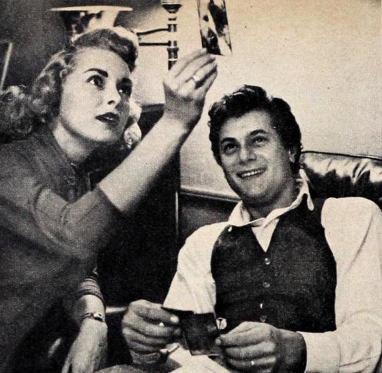 Janet Leigh and Tony Curtis in Photoplay, 1954.png