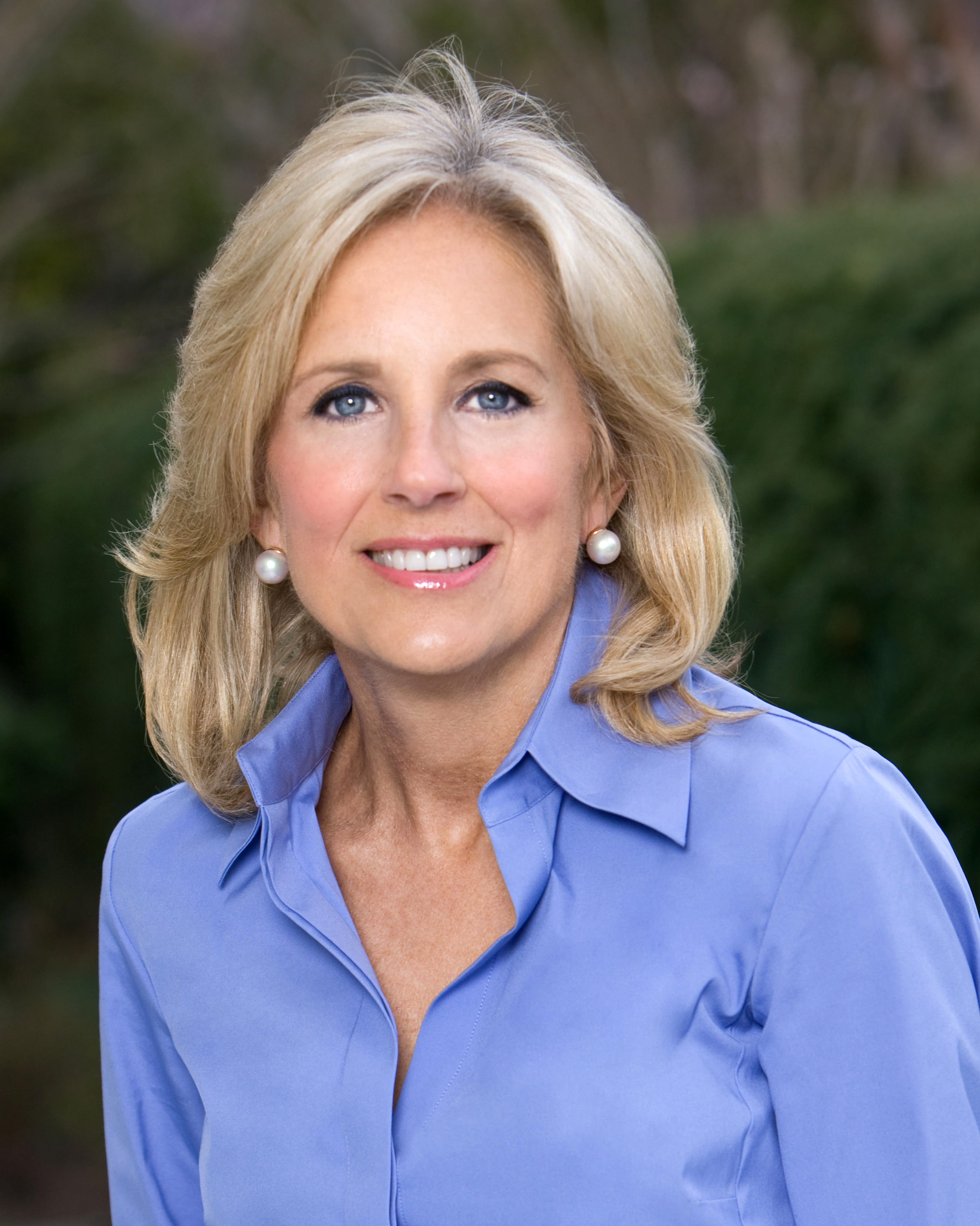 File:JILL BIDEN official portrait headshot.jpg - Wikipedia, the ...