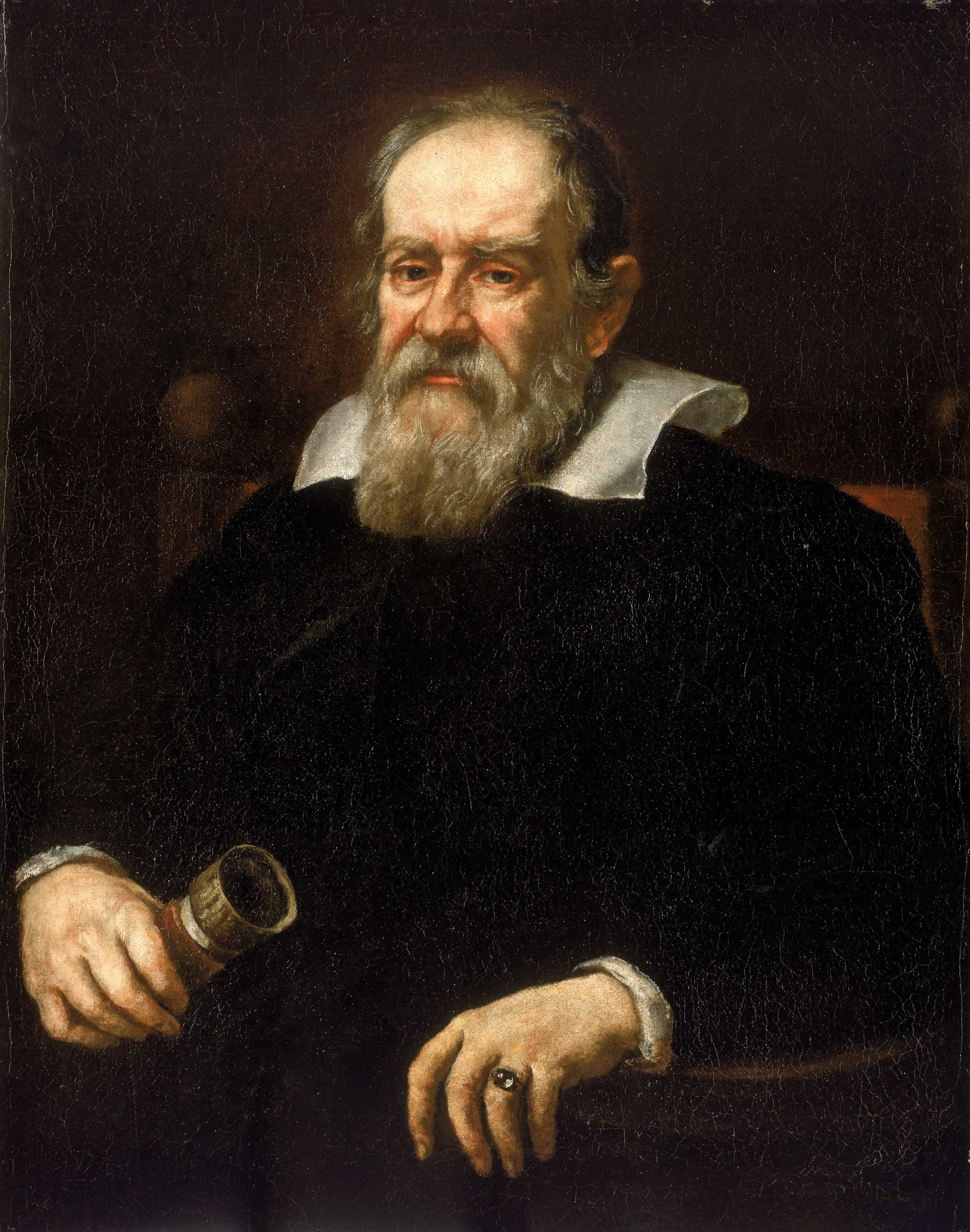 ''Portrait of Galileo Galilei'' (1636), by [[Justus Sustermans]]