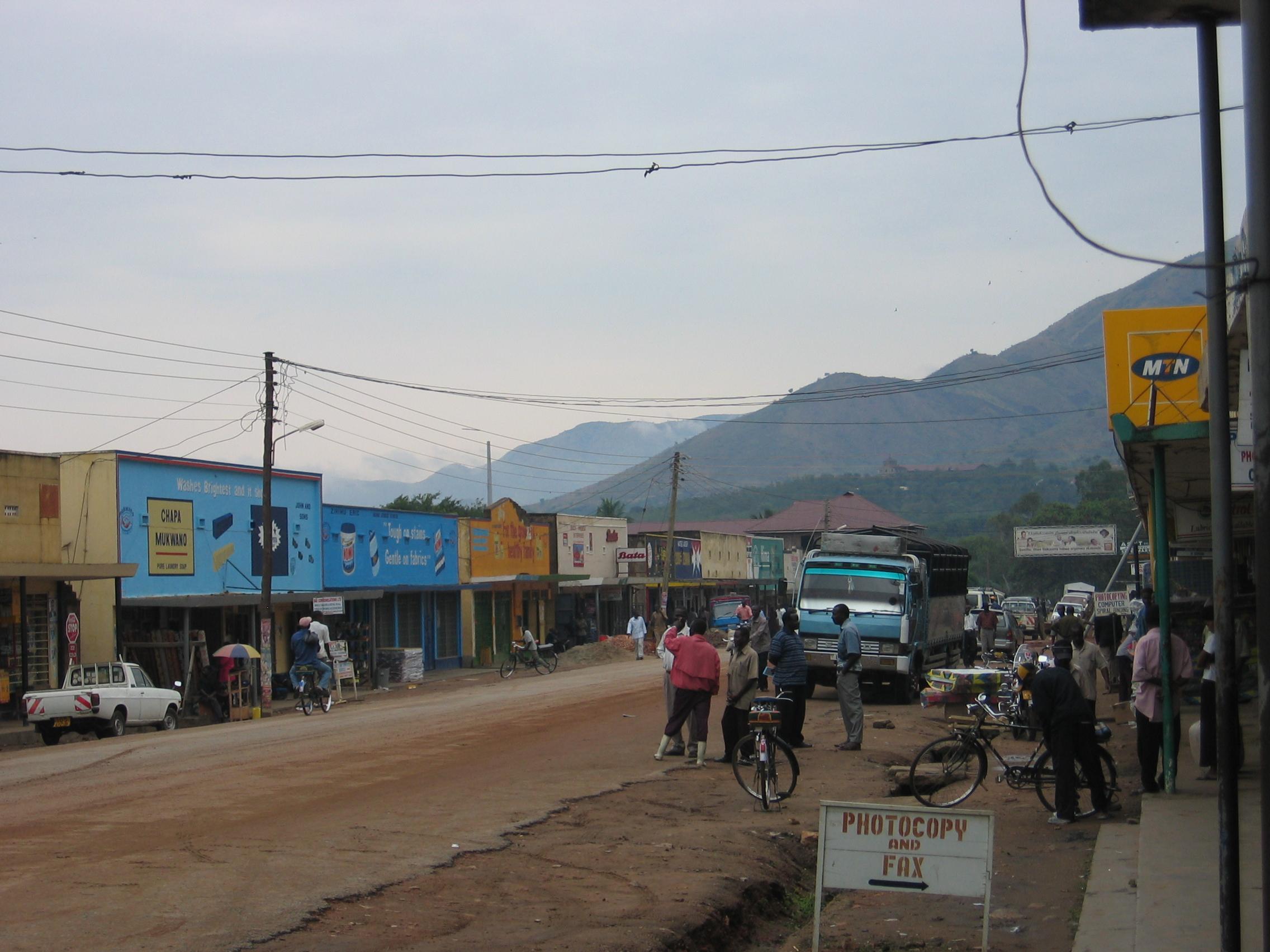 Image result for uganda town