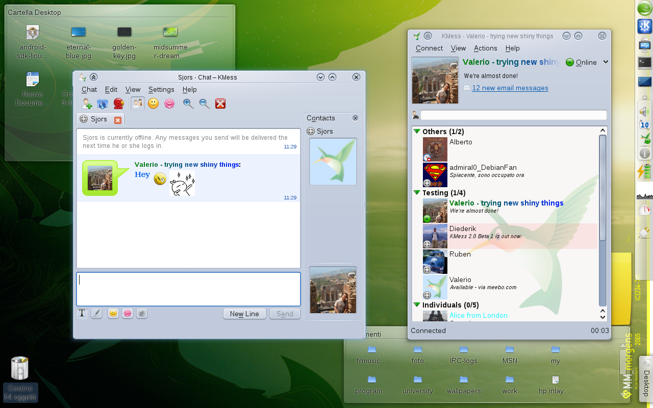 linux msn messenger software