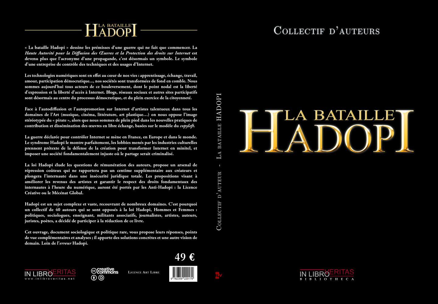 livre explicatif de la loi Hadopi et des débats qu'elle provoque