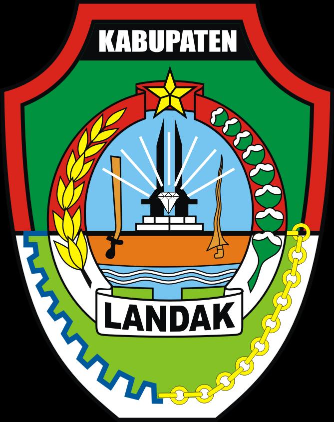 File Lambang Kabupaten Landak Png Wikimedia Commons