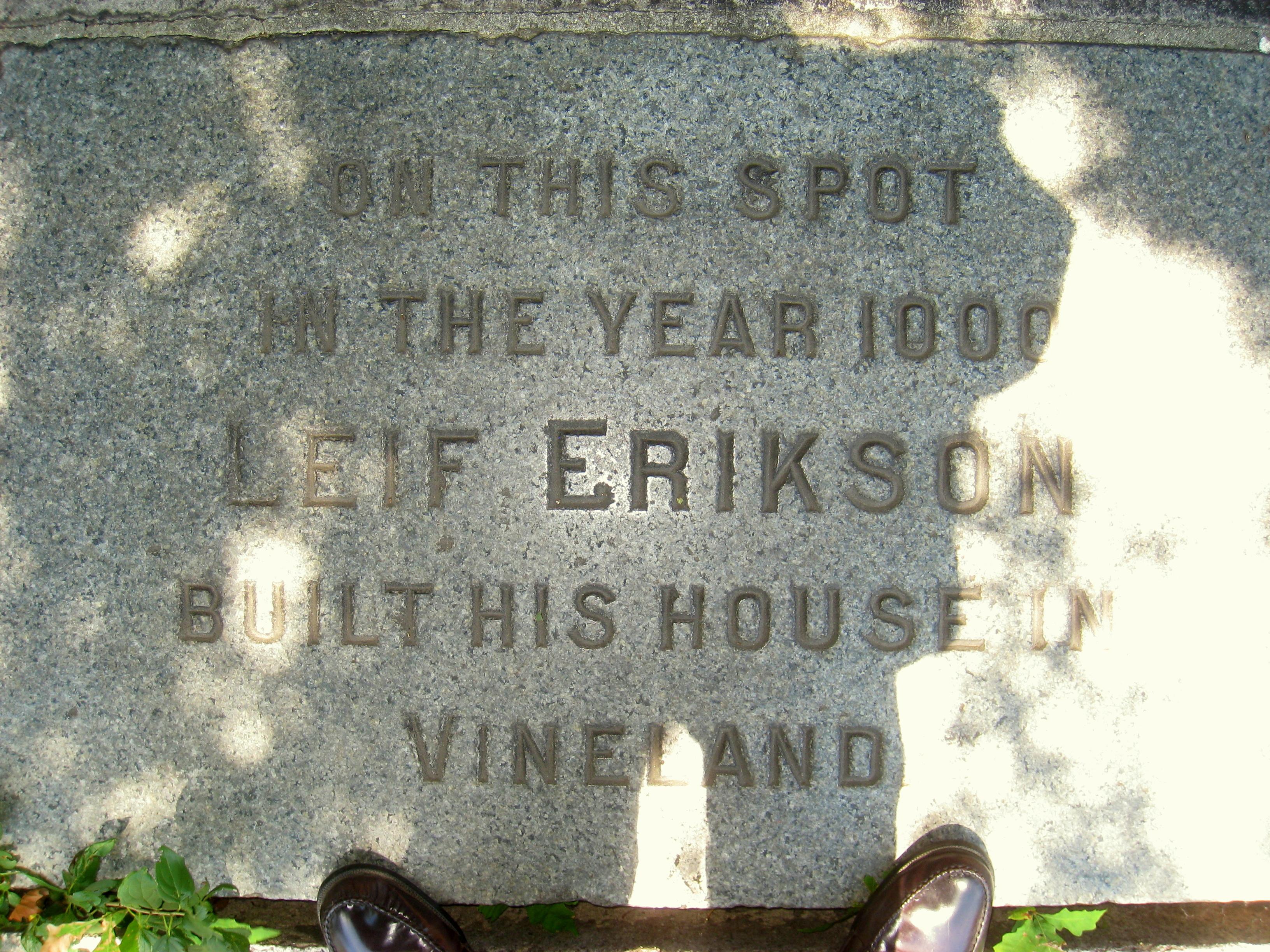 File Leif Erikson Plaque Cambridge Ma Img 0181 Jpg