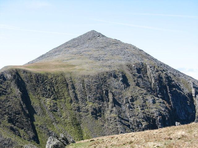 Looking towards the summit of Elidir Fawr - geograph.org.uk - 226121