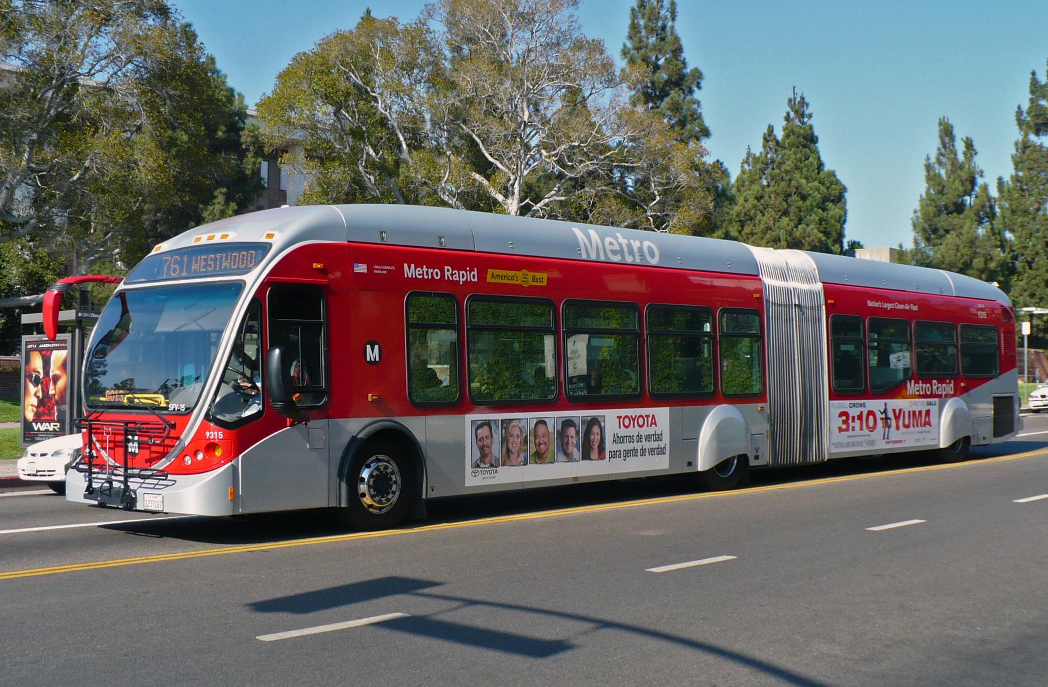 City Tour Buses Los Angeles
