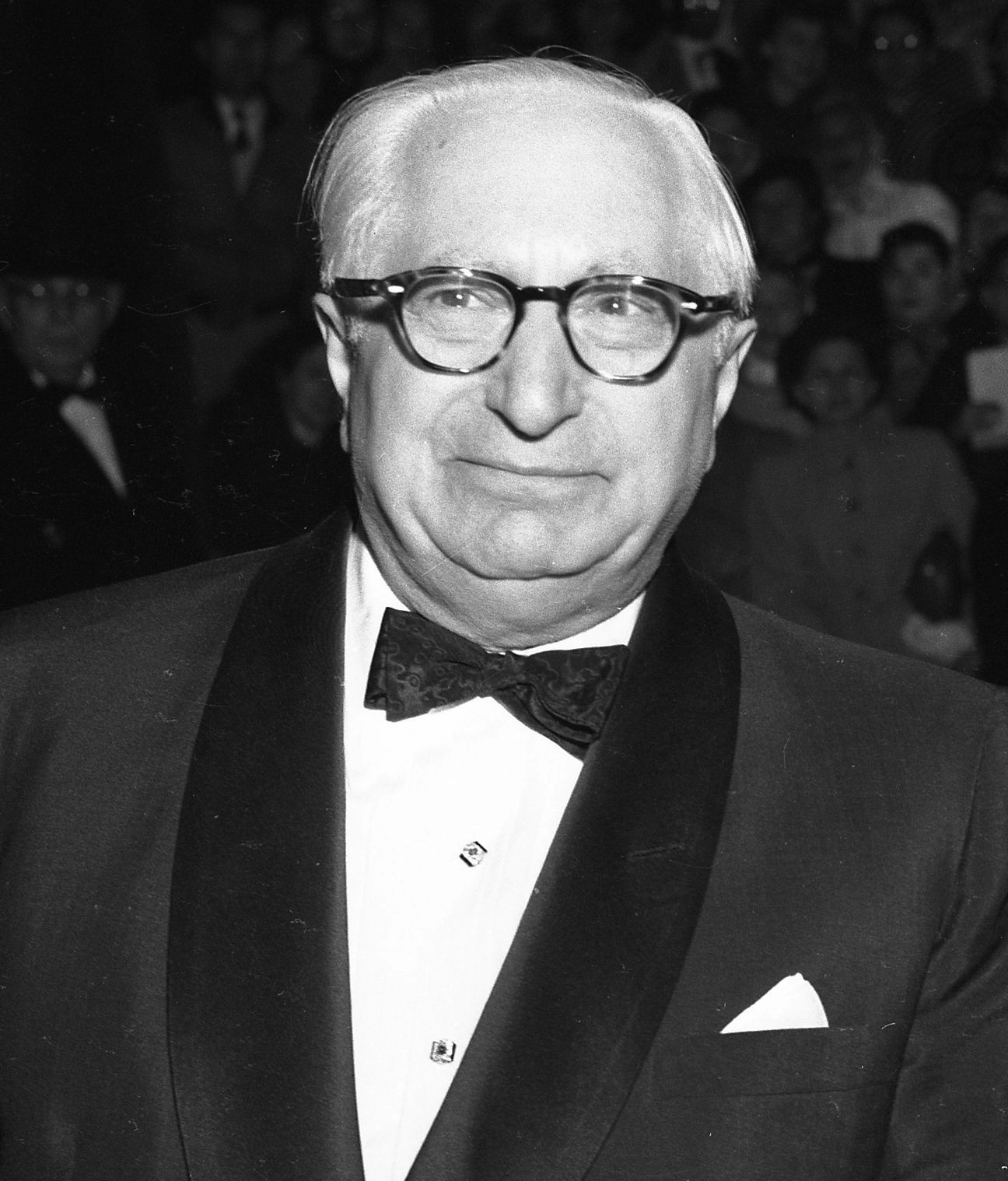 "English: Louis B Mayer at the ""Torch Song..."