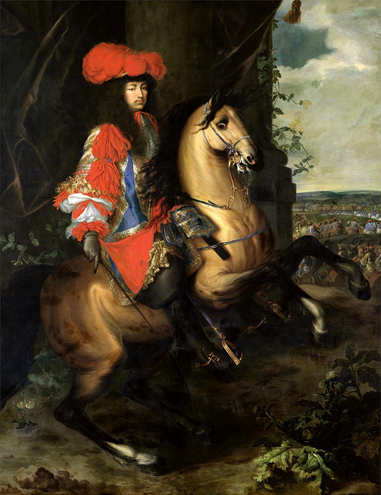 https://upload.wikimedia.org/wikipedia/commons/d/d4/Louis_XIV_Equestrian_Portrait.jpg