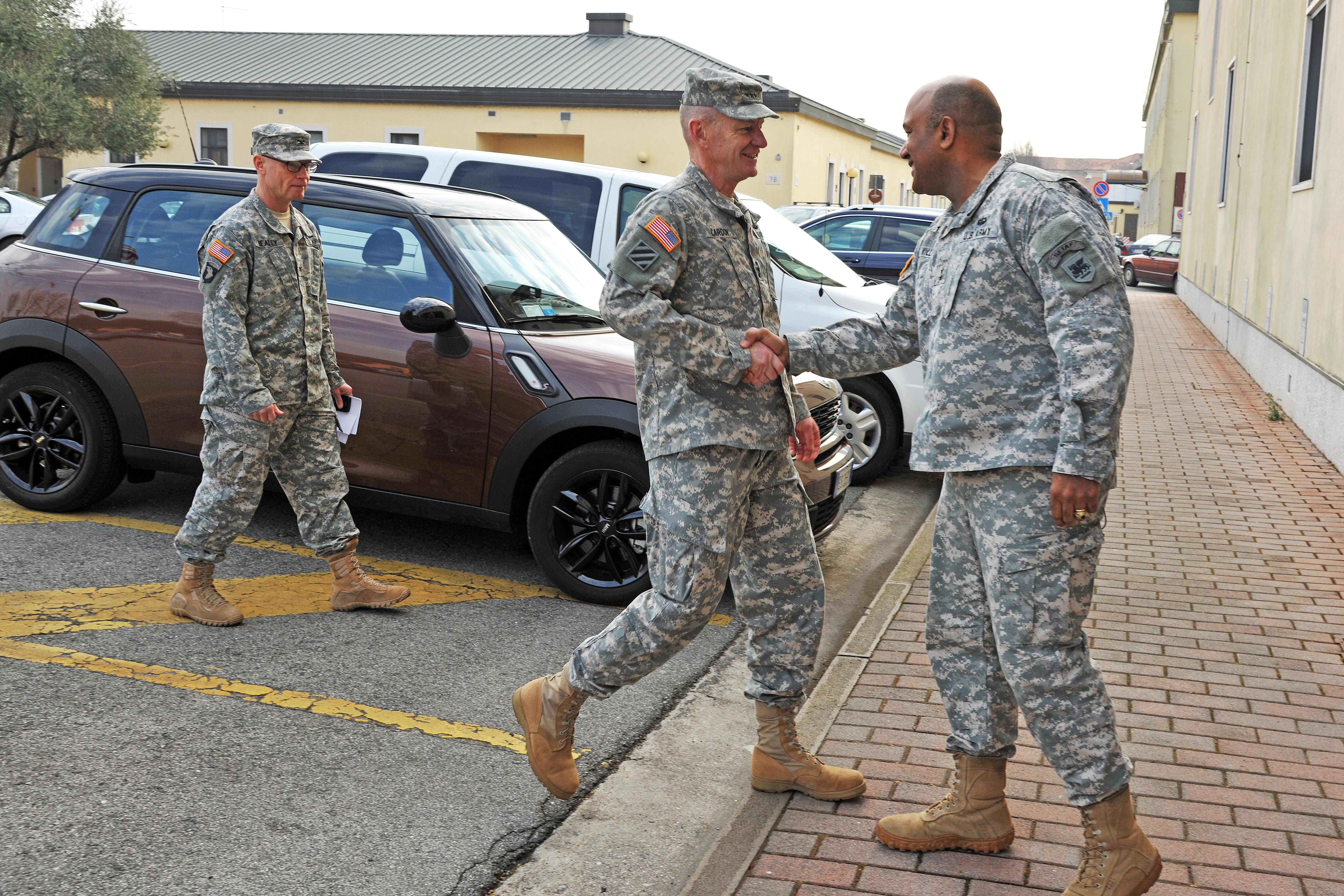File Lt Gen Edward C Cardon Visits At Caserma Ederle In Vicenza