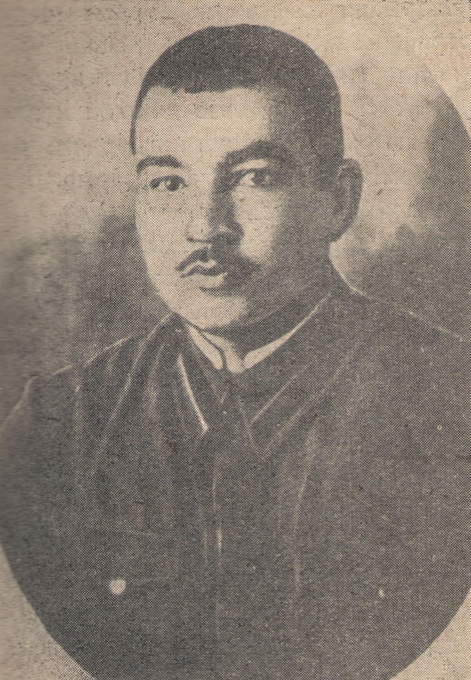Cross Stitch Alphabet Charts: Mehdi Huseynzade in 1941 in Tbilisi military school.jpeg ,Chart