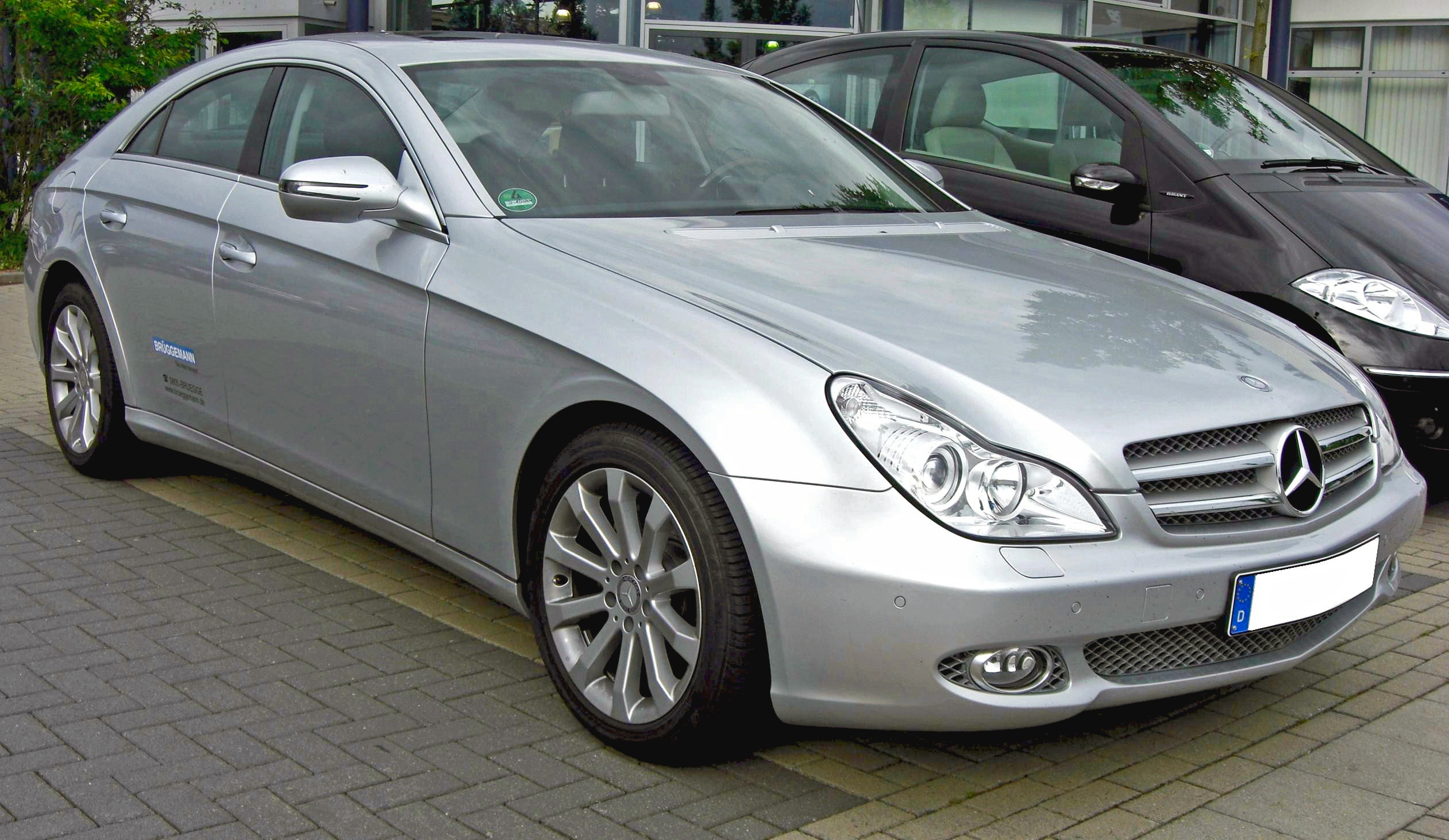 File mercedes cls facelift wikimedia commons for Mercedes benz 440