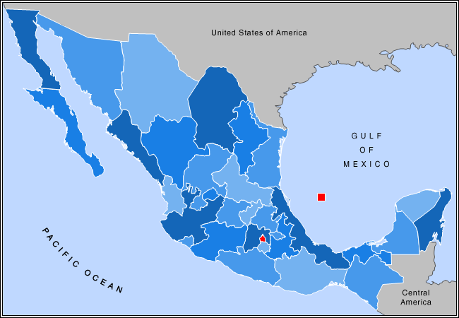Outline Of Mexico Wikipedia - Us map religion outline
