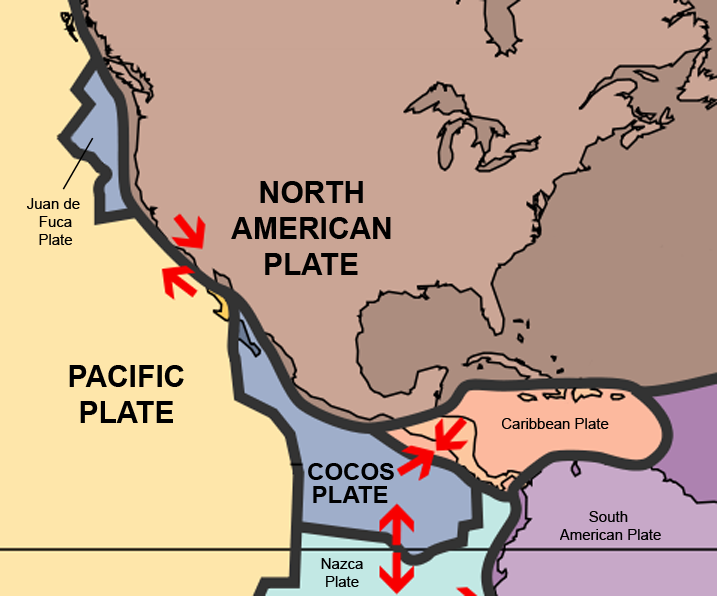 File Mexico Tectonic Plates Png