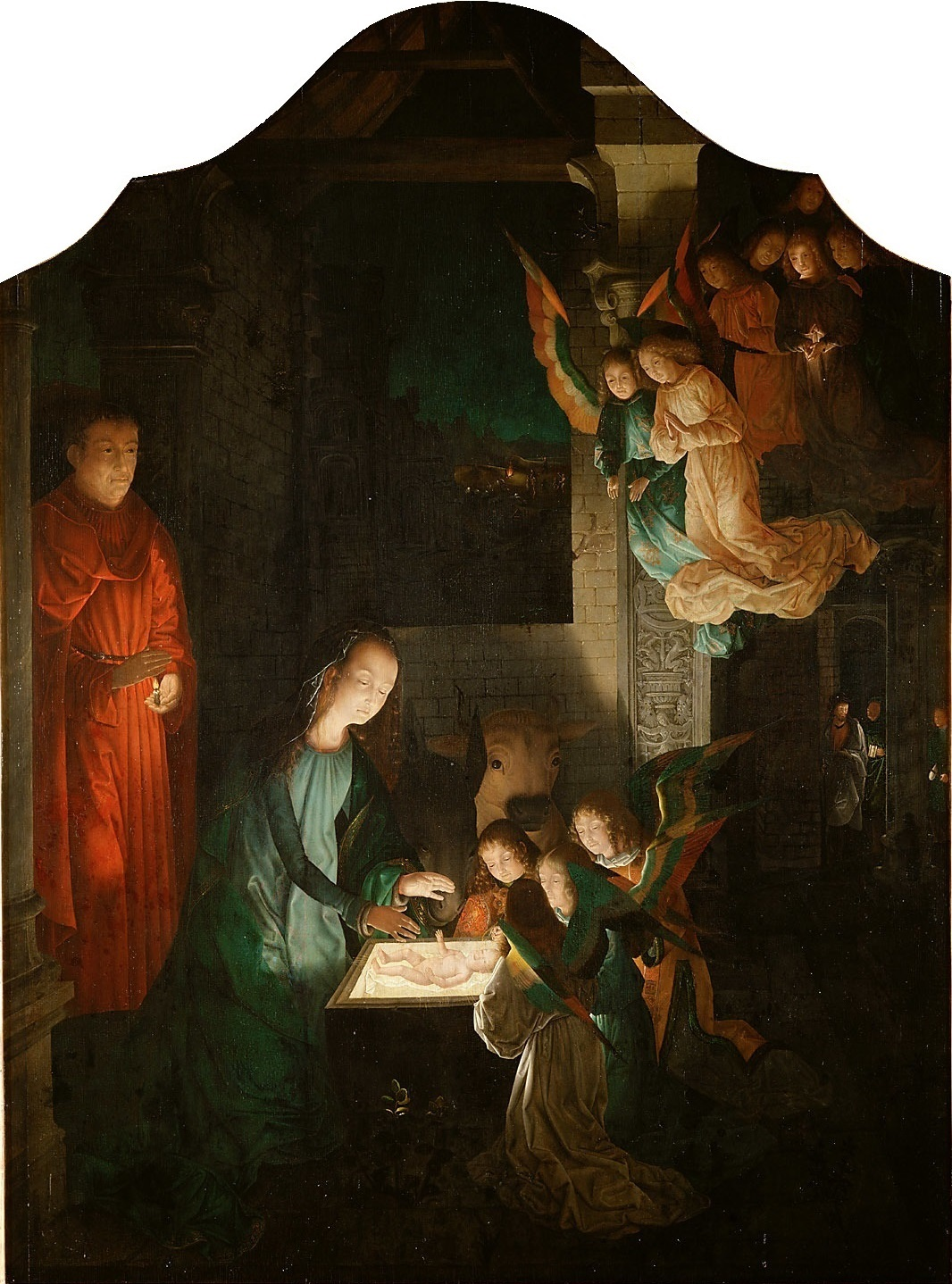 Famous Painting of the Nativity http://branemrys.blogspot.com/2011/12/nativity-in-paintings-i.html