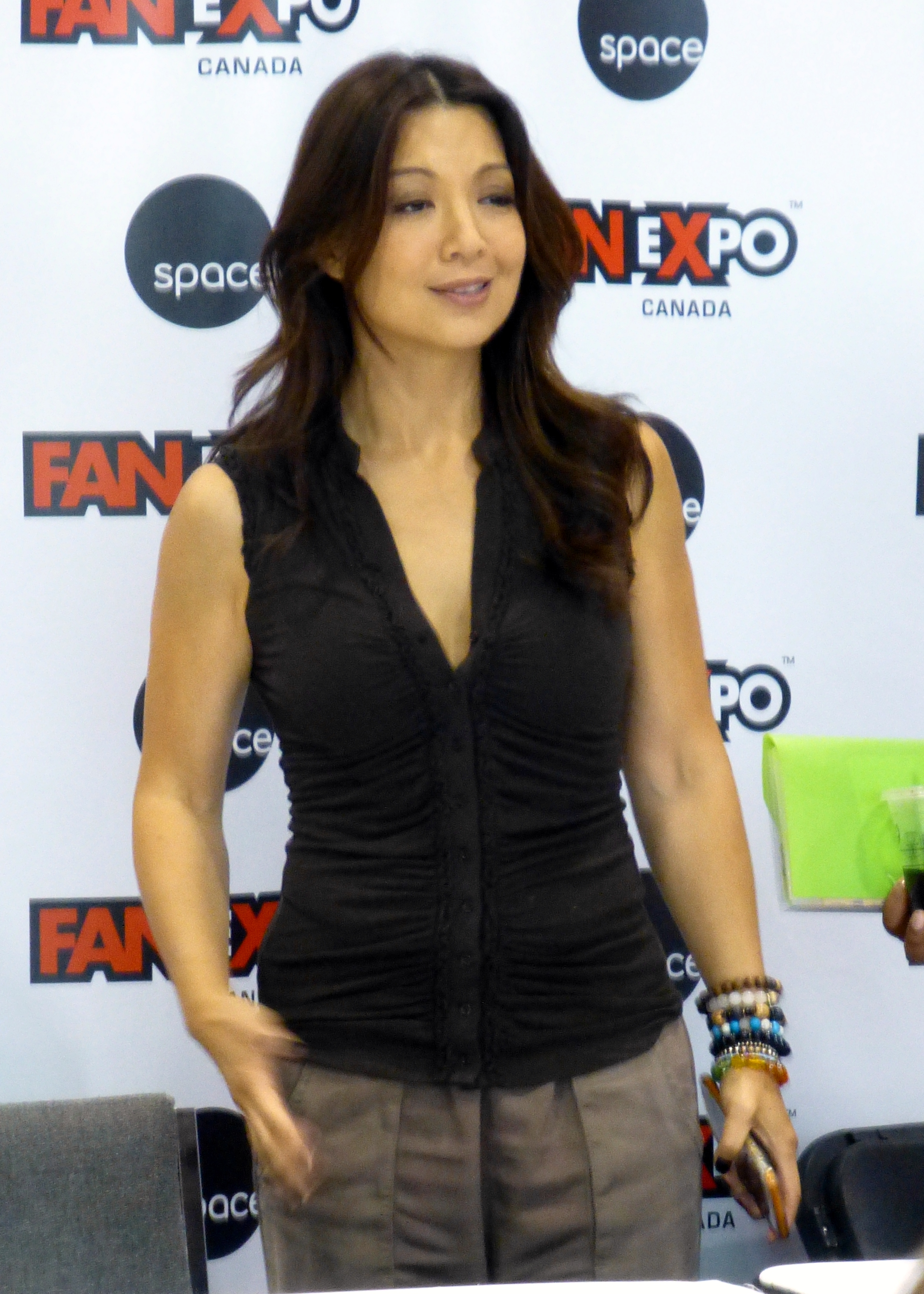 Boobs Is a cute Ming-Na Wen naked photo 2017