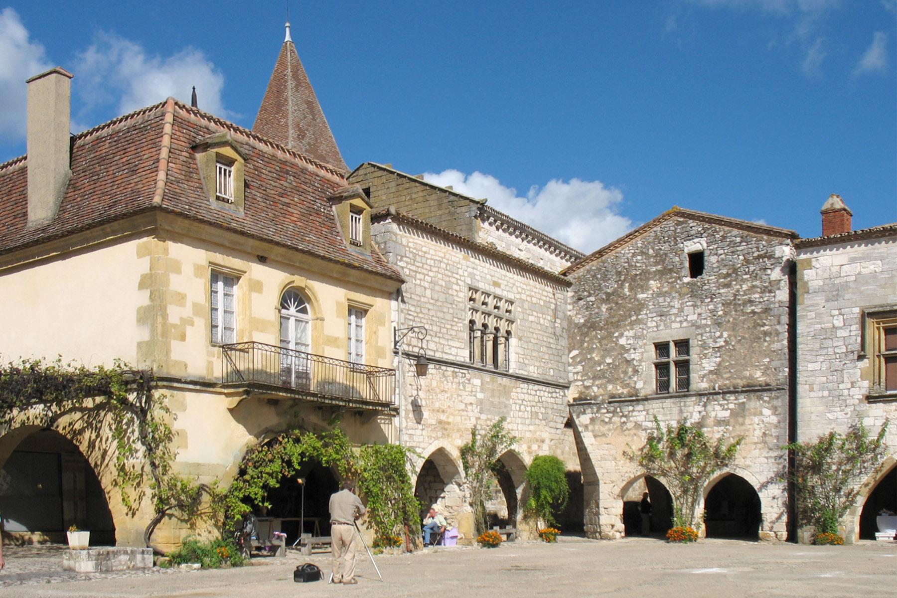 Commune de monpazier chef lieu de canton - Grange de la bastide ...