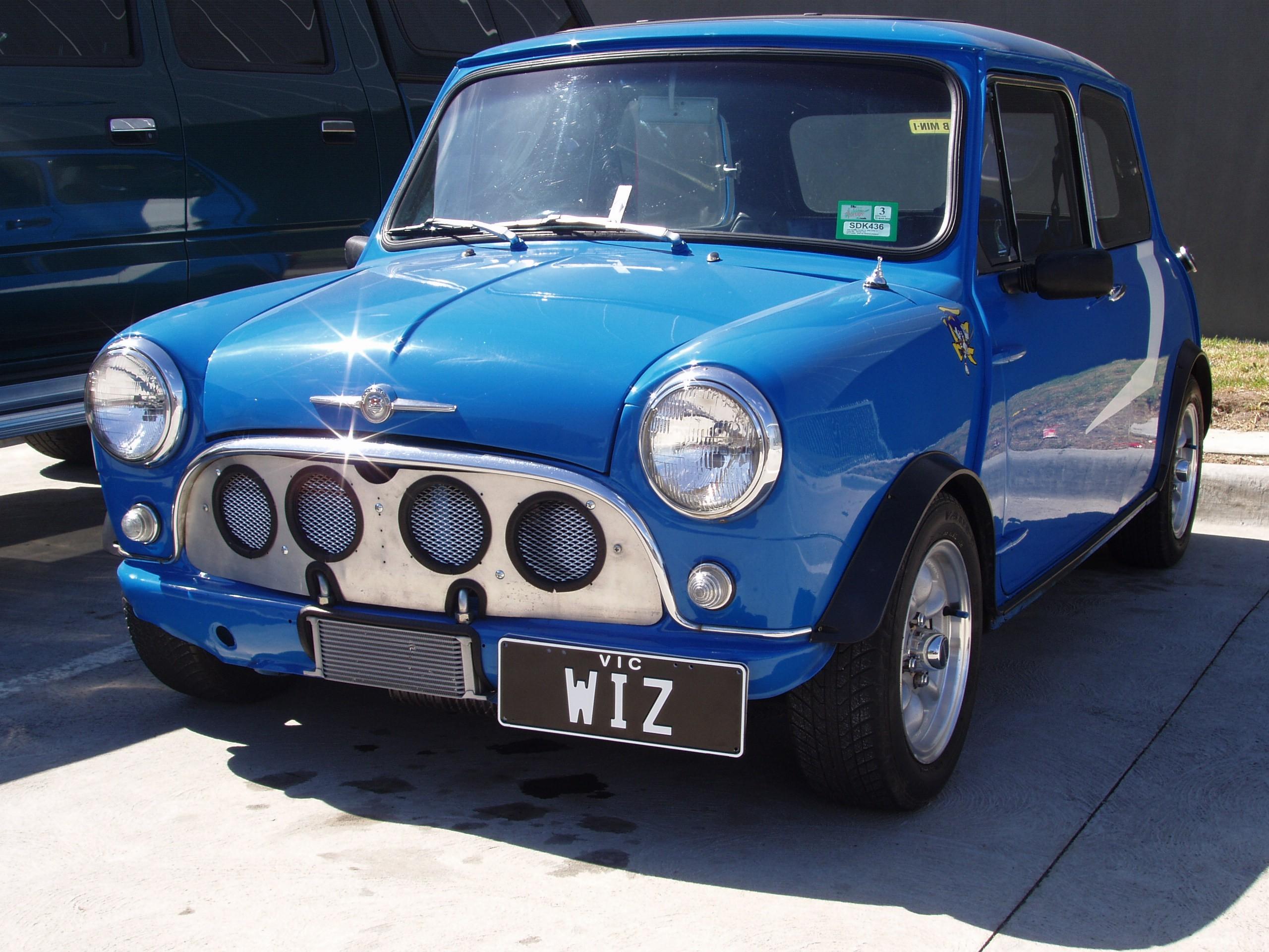 File Morris Mini Blue Jpg Wikimedia Commons