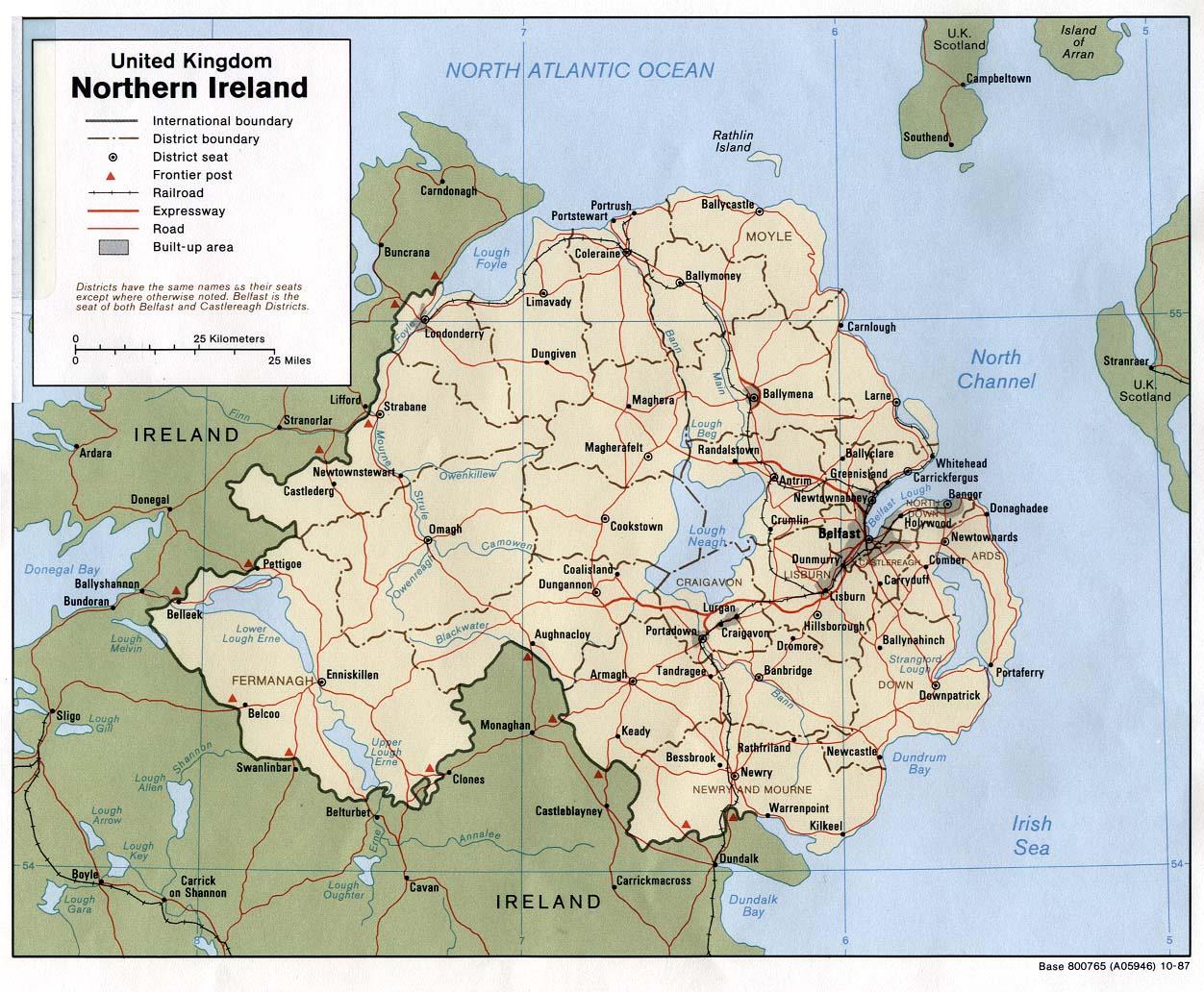 Nordirland Bevölkerung