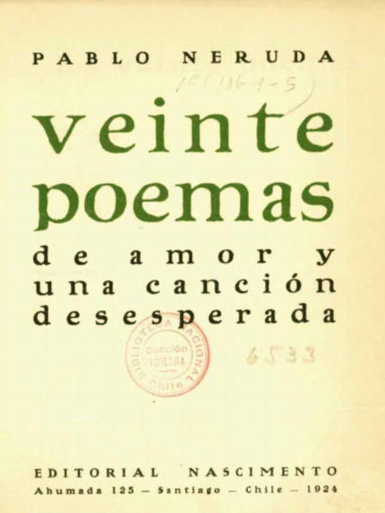 File Neruda Portada Veinte Poemas De Amor 1924 Jpg Wikimedia