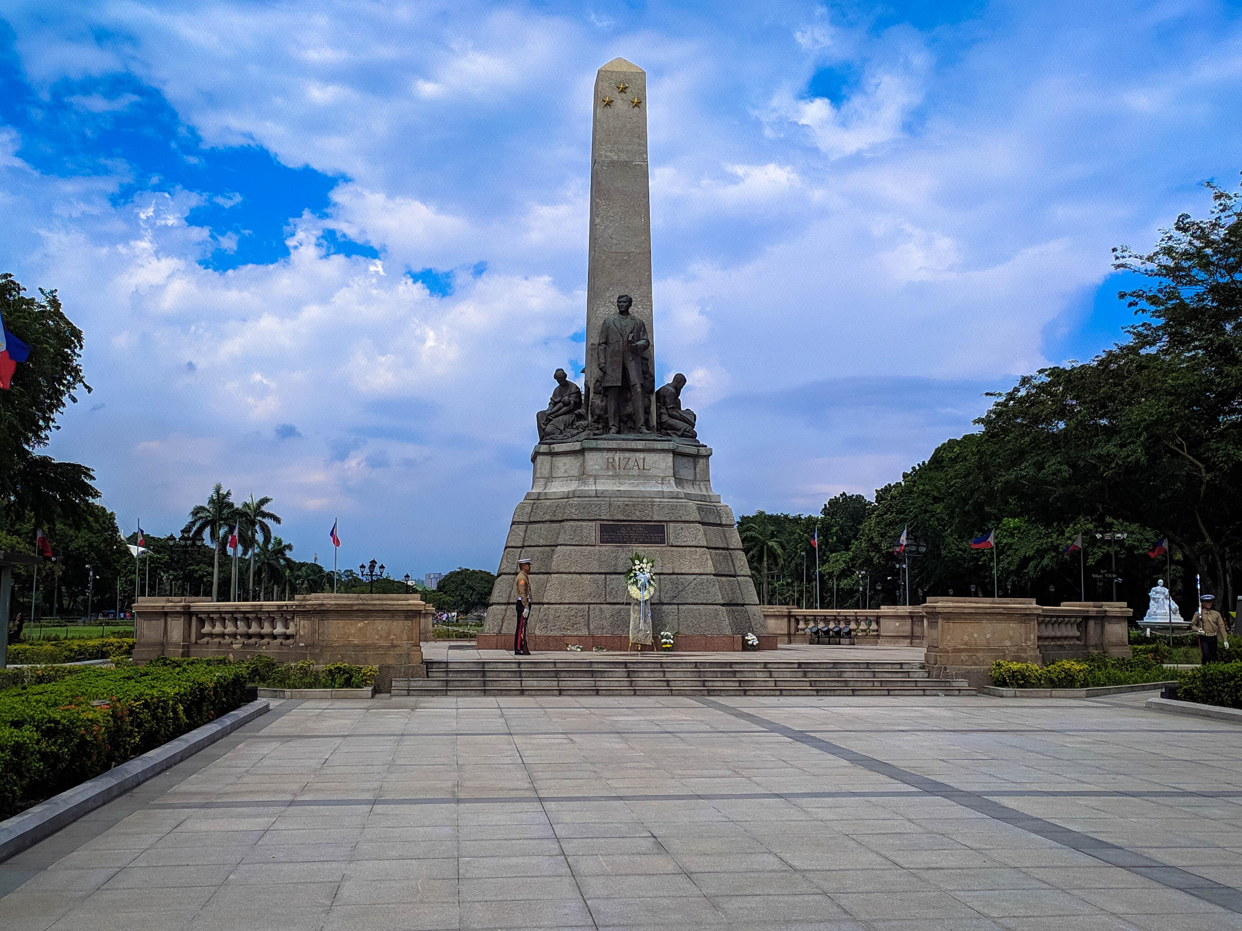Parque Rizal en Filipinas