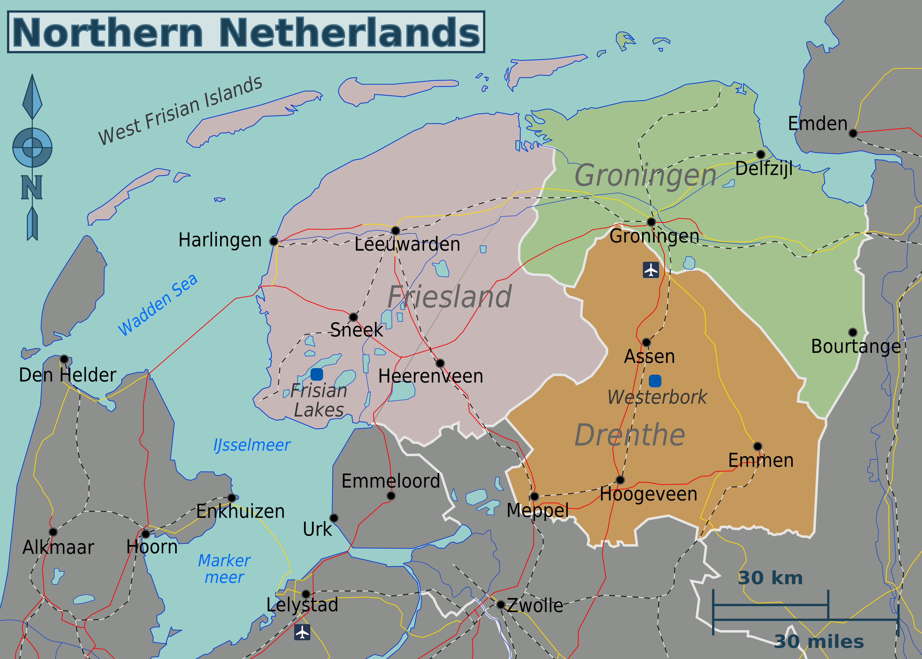 Northern Netherlands – Travel guide at Wikivoyage