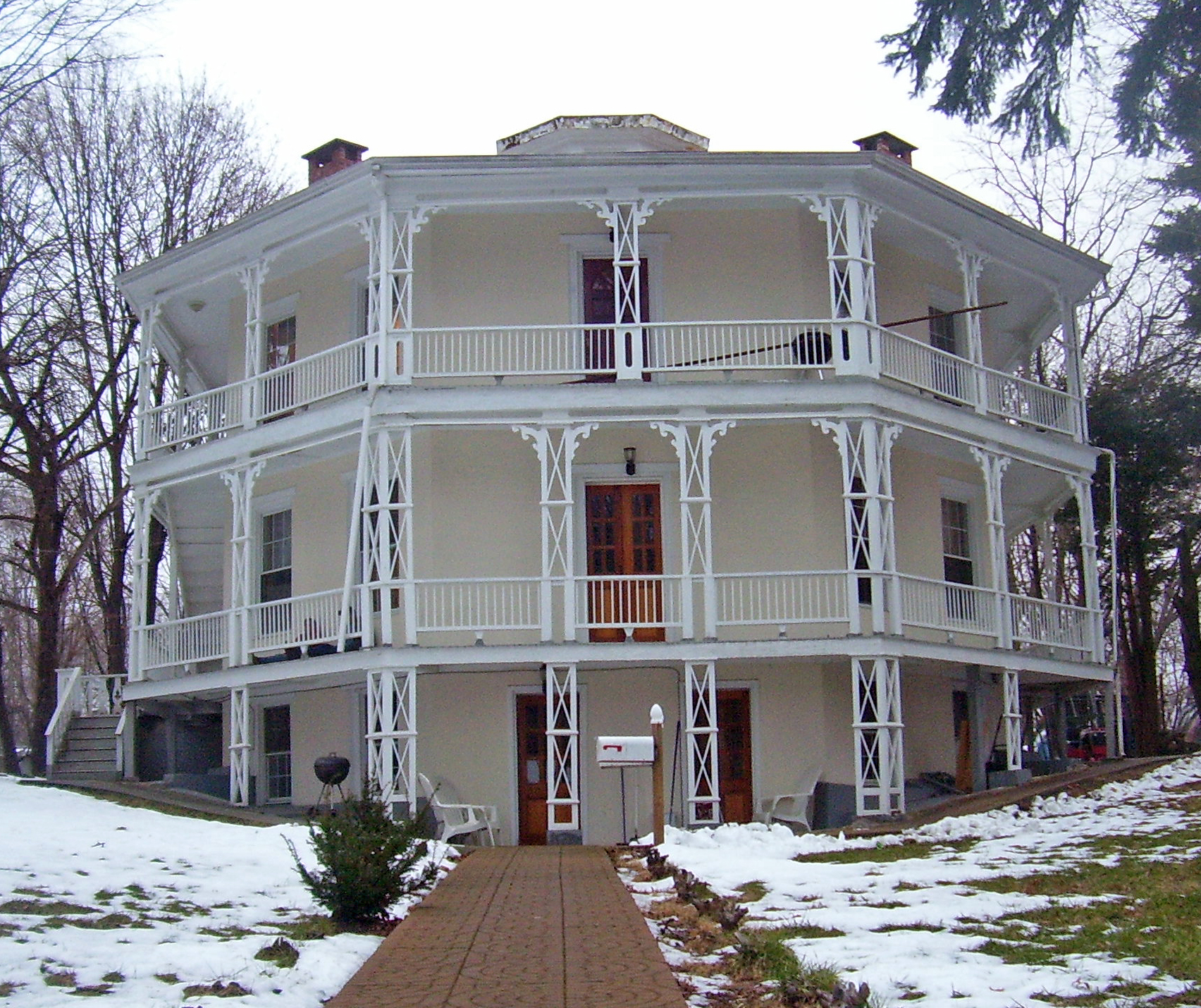 File Octagon House Danbury Wikimedia Commons