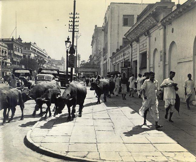 File Old Court House Street Calcutta In 1945 Jpg