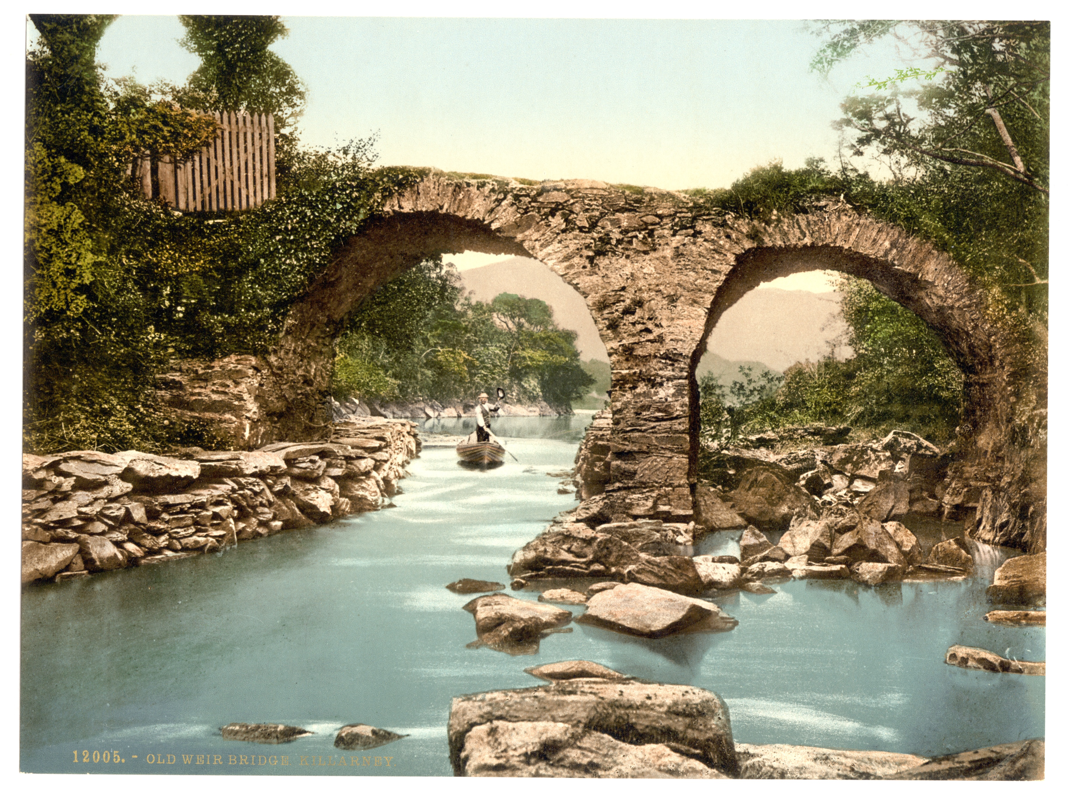 File Old Weir Bridge Killarney County Kerry Ireland