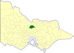 Shire of Waranga Local government area in Victoria, Australia