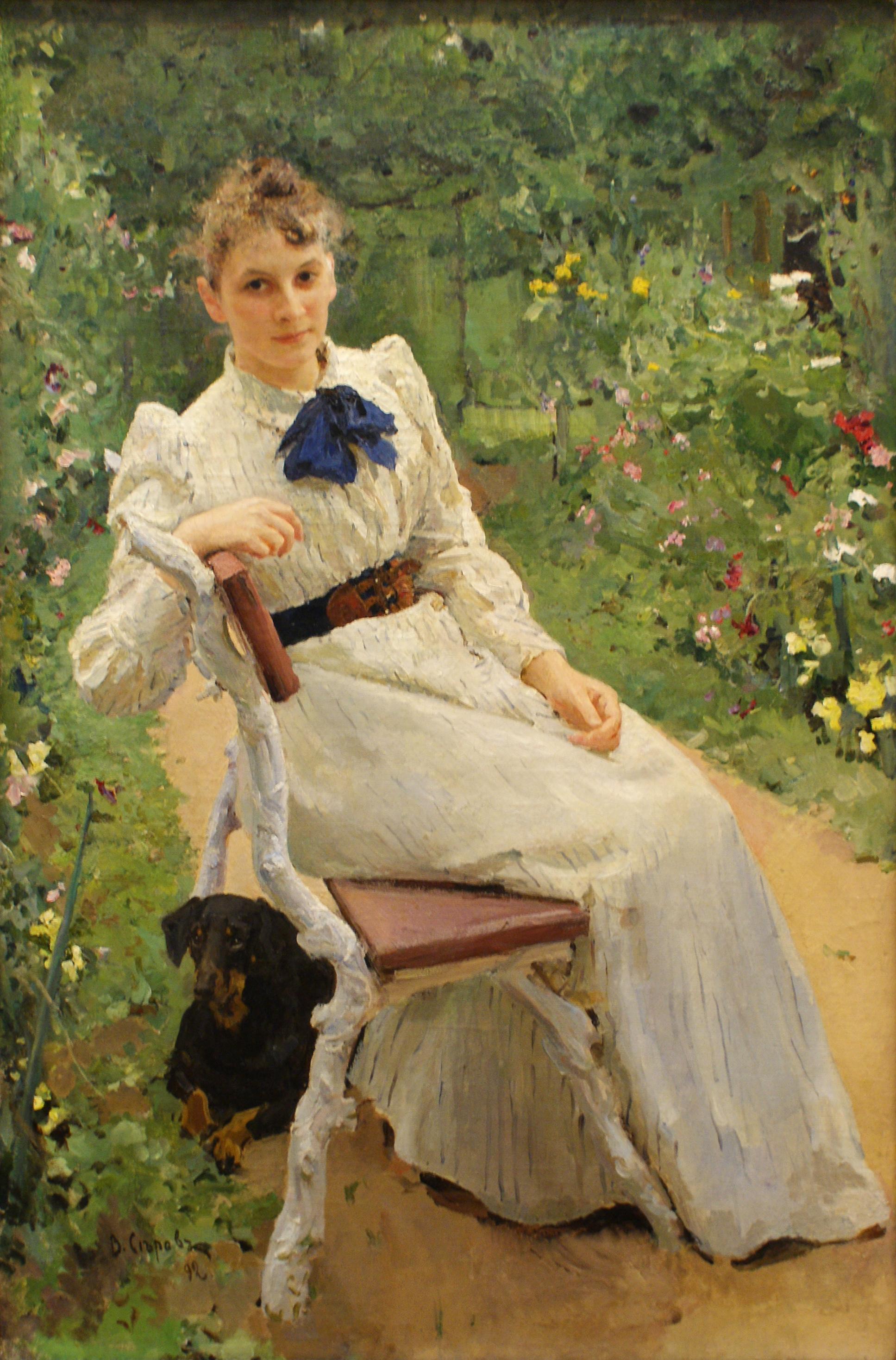 File:Olga Fedorovna Tamara by V.Serov (1892).jpg - Wikimedia Commons