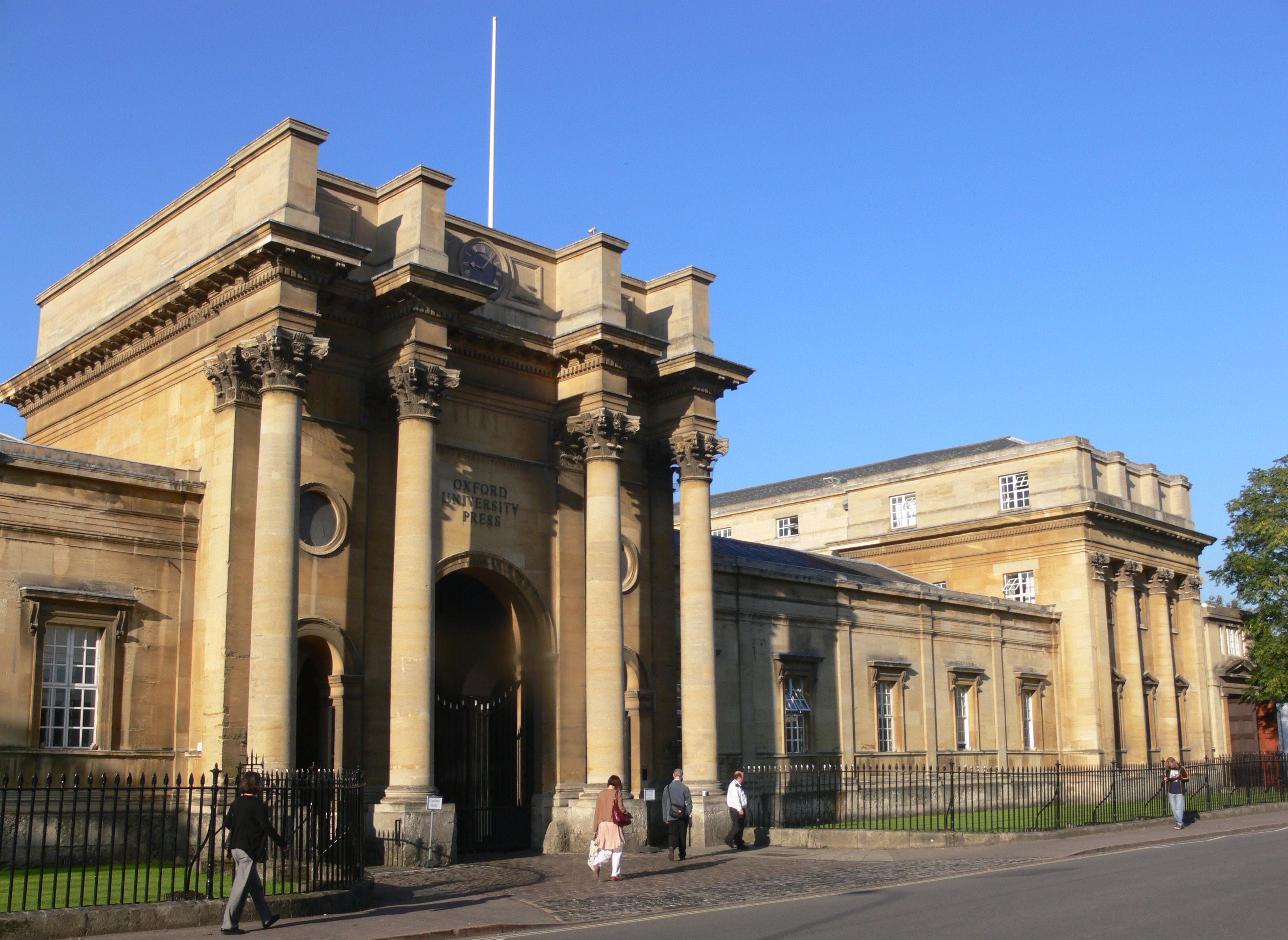 Oxford university press editing service