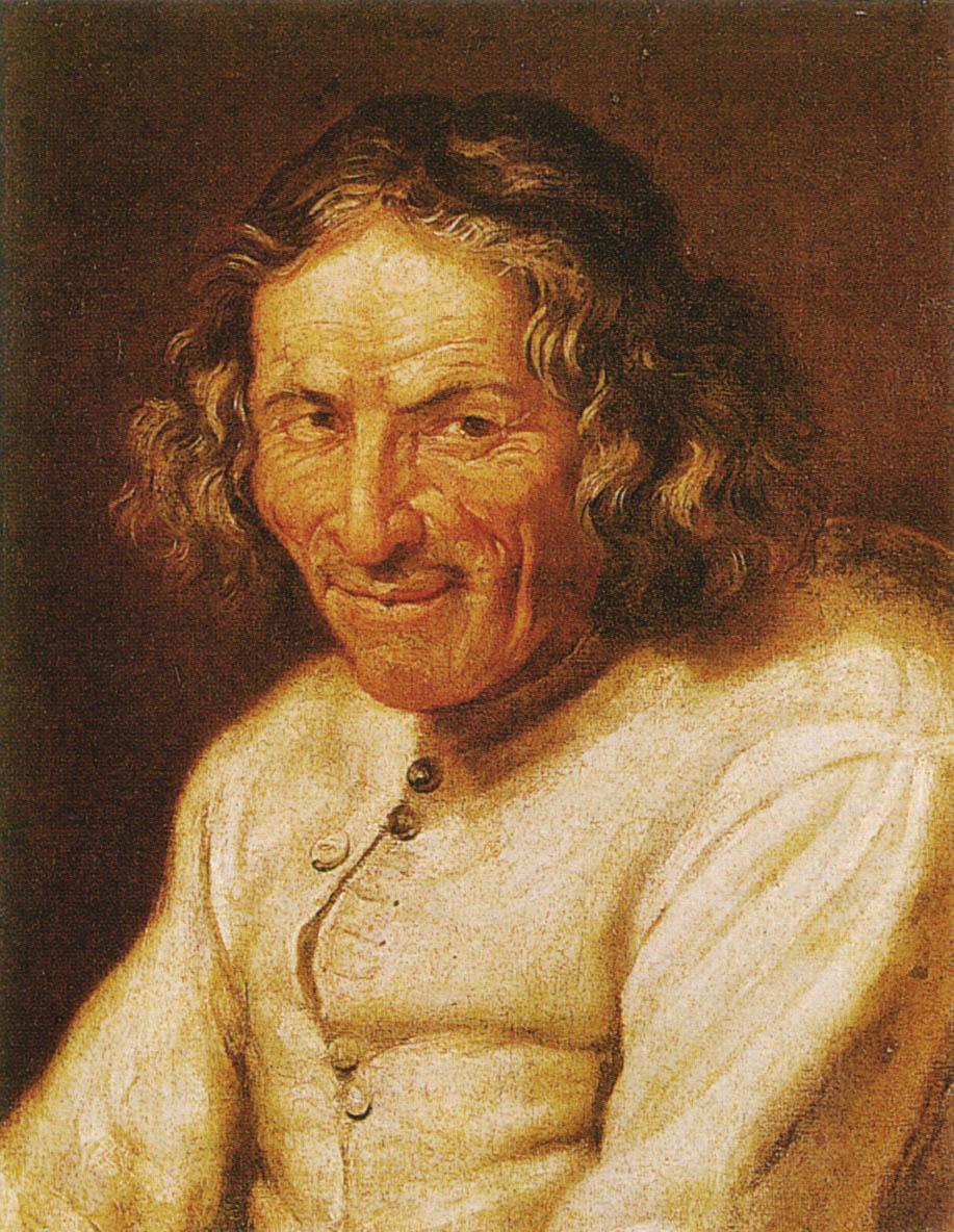 Paul Scarron, anonymous 17th century portrait, Musée de Tessé, [[Le Mans