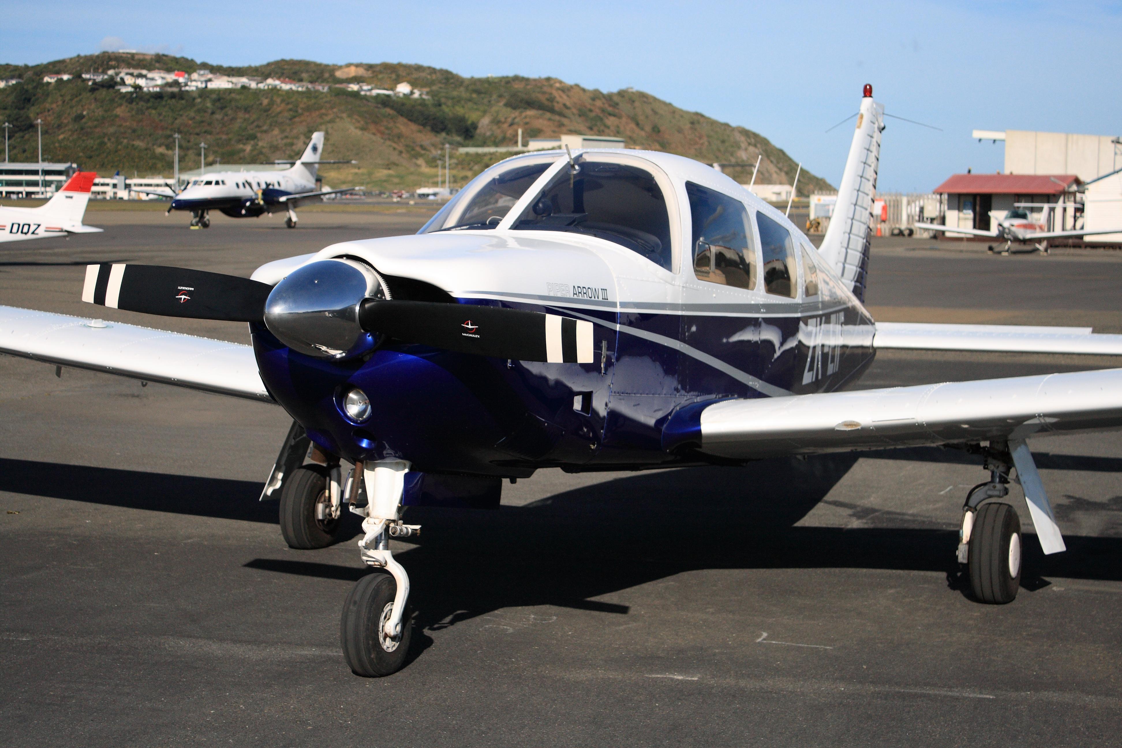 File:Piper Arrow III ZK-EIF.jpg