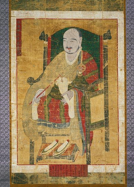 Portrait of Seosan Daesa-Cheonghodang.jpg