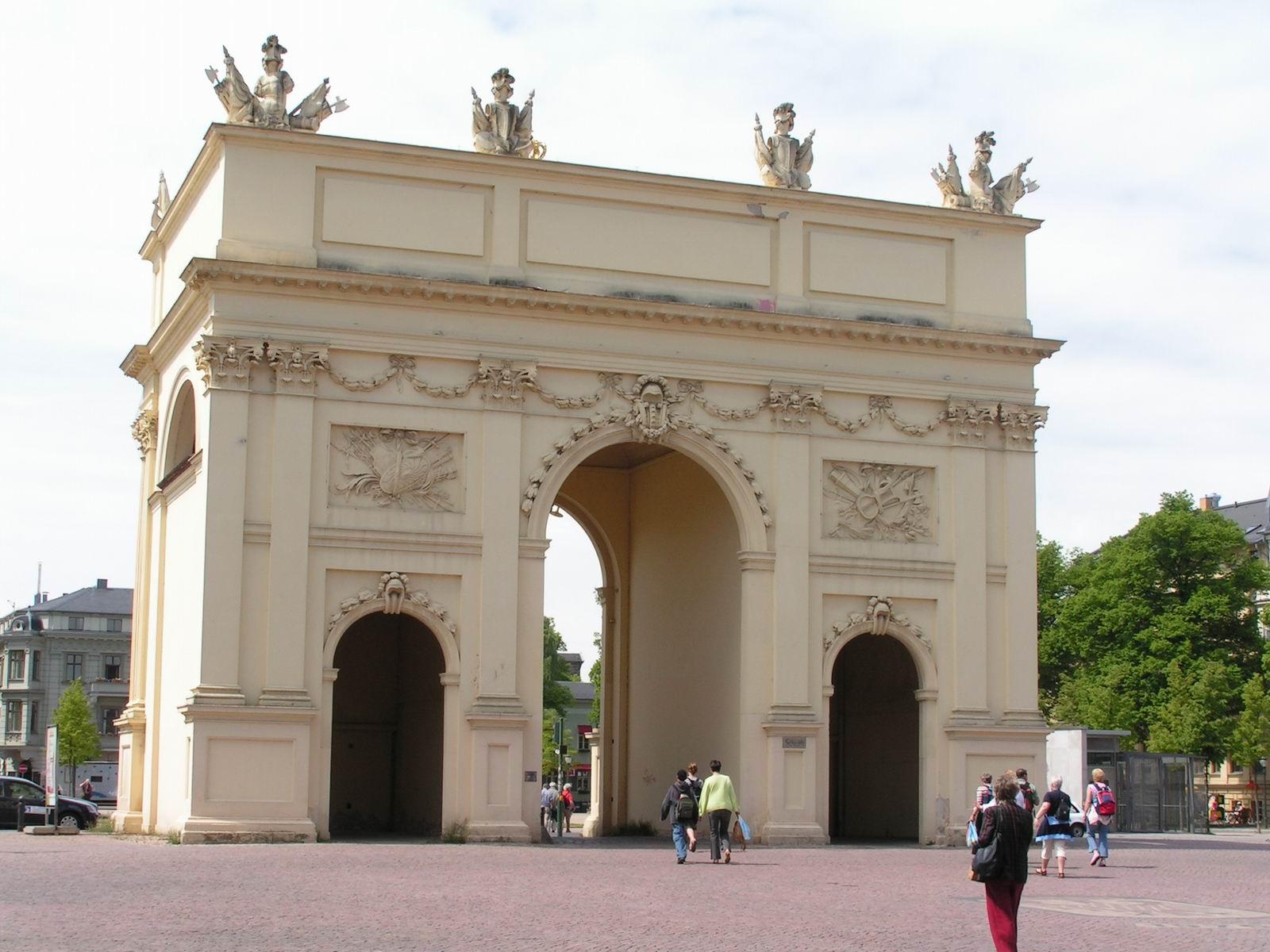 Brandenburg Gate Pictures Brandenburg Gate From The City