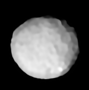 2 Pallas Large asteroid of the main asteroid belt