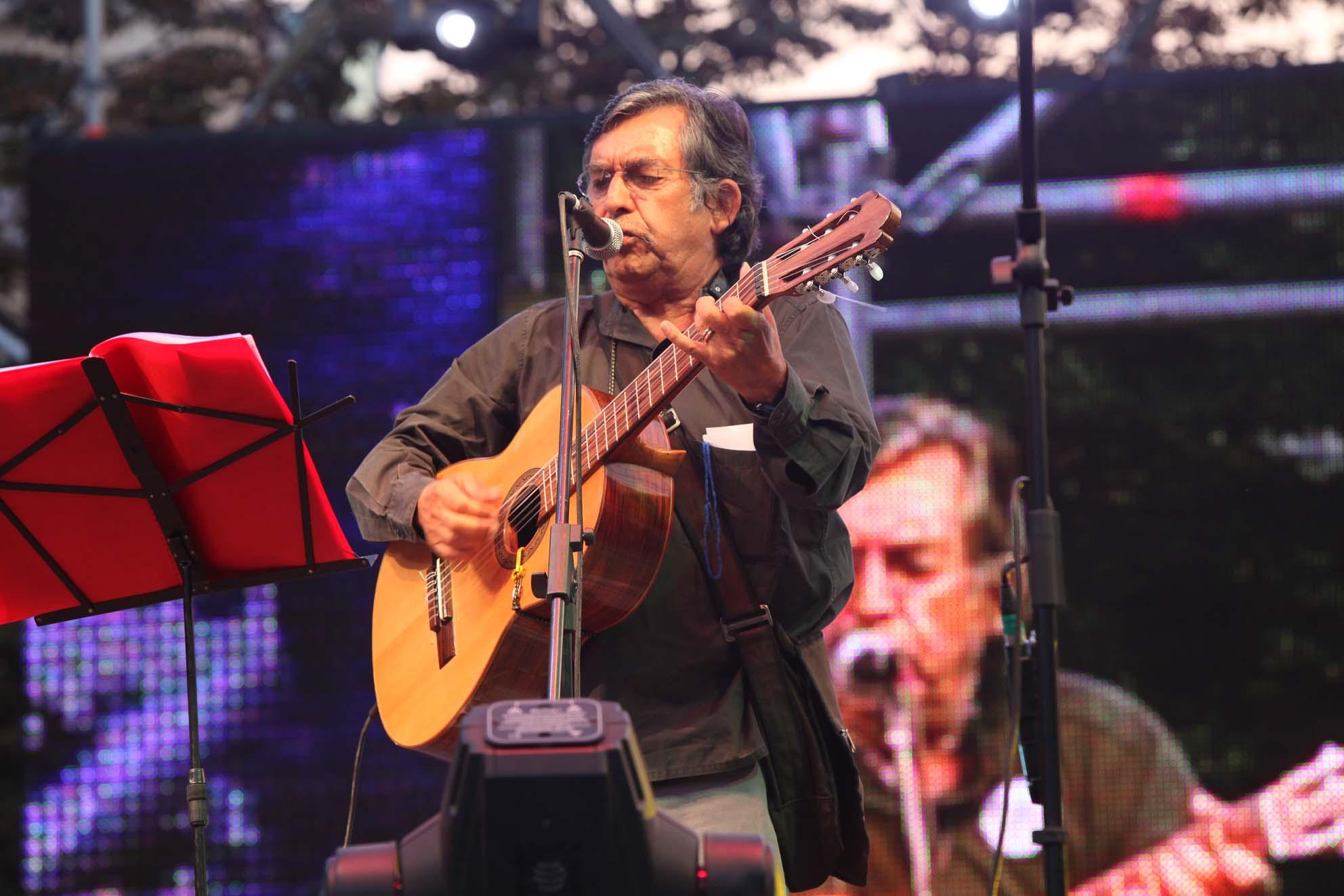 Angel Parra en 2010.